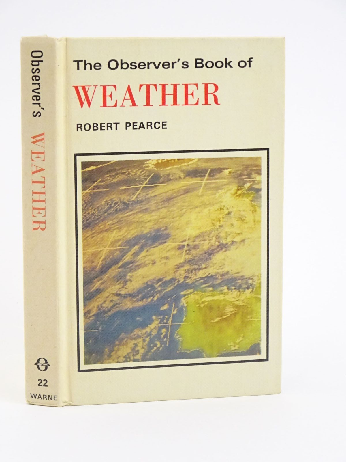 Photo of THE OBSERVER'S BOOK OF WEATHER written by Pearce, Robert illustrated by Martin, Ray published by Frederick Warne (STOCK CODE: 1318050)  for sale by Stella & Rose's Books