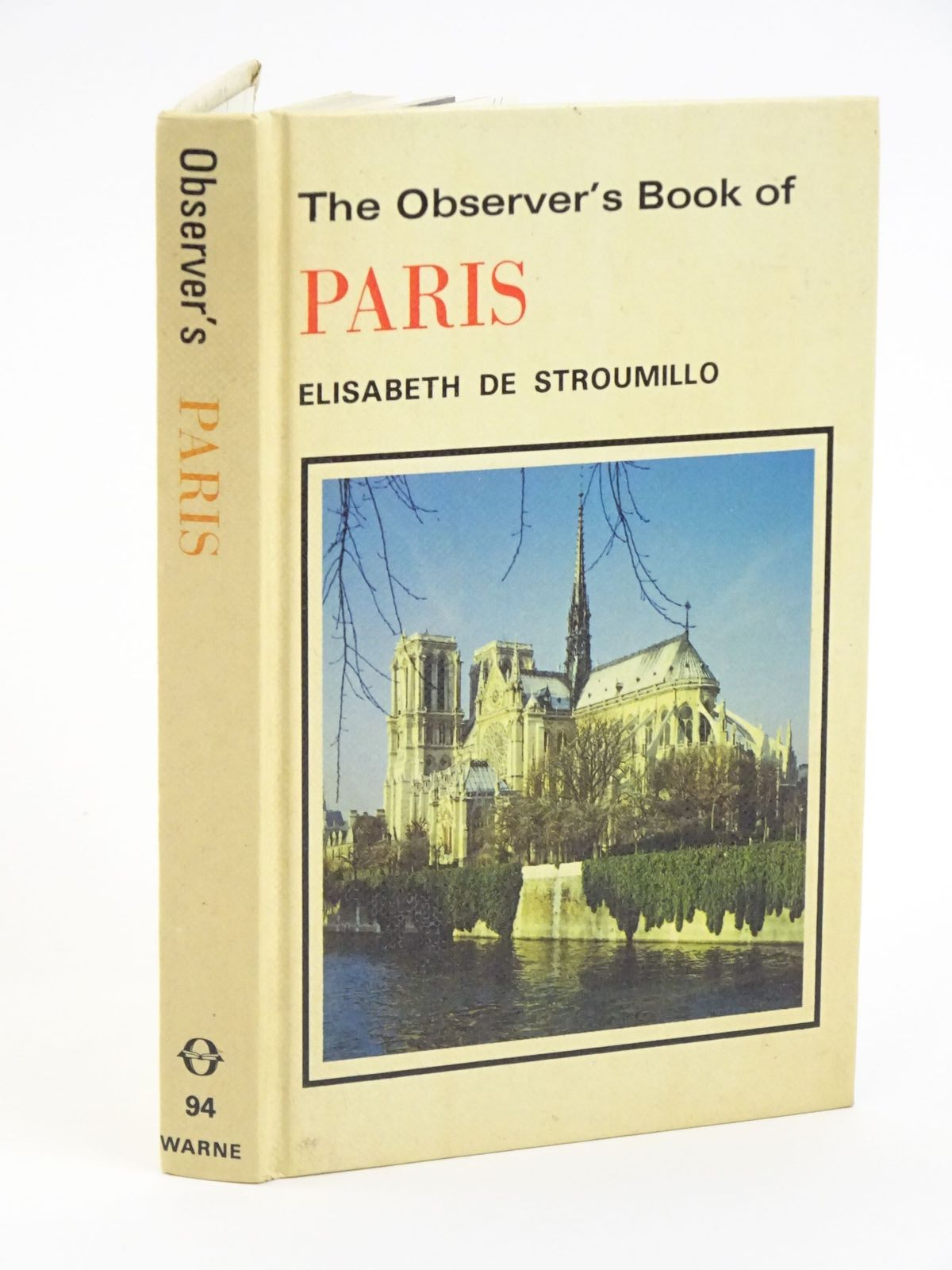 Photo of THE OBSERVER'S BOOK OF PARIS- Stock Number: 1318058