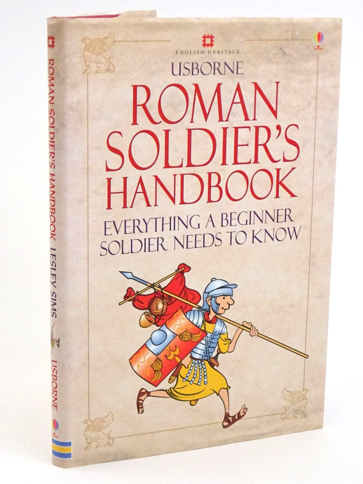 Photo of THE ROMAN SOLDIER'S HANDBOOK written by Sims, Lesley illustrated by McNee, Ian published by Usborne Publishing Ltd. (STOCK CODE: 1318071)  for sale by Stella & Rose's Books