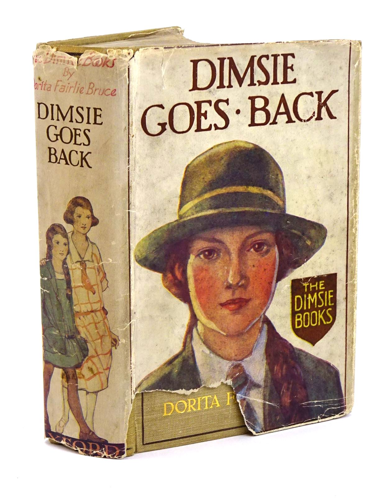 Photo of DIMSIE GOES BACK written by Bruce, Dorita Fairlie illustrated by Reeve, Mary Strange published by Oxford University Press, Humphrey Milford (STOCK CODE: 1318078)  for sale by Stella & Rose's Books