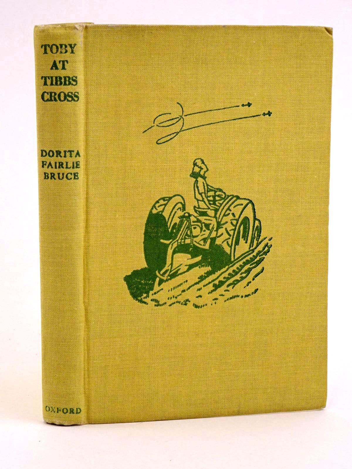Photo of TOBY AT TIBBS CROSS written by Bruce, Dorita Fairlie illustrated by Horder, Margaret published by Oxford University Press, Humphrey Milford (STOCK CODE: 1318096)  for sale by Stella & Rose's Books
