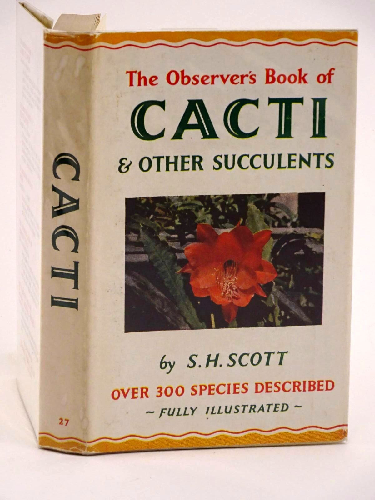 Photo of THE OBSERVER'S BOOK OF CACTI AND OTHER SUCCULENTS- Stock Number: 1318108