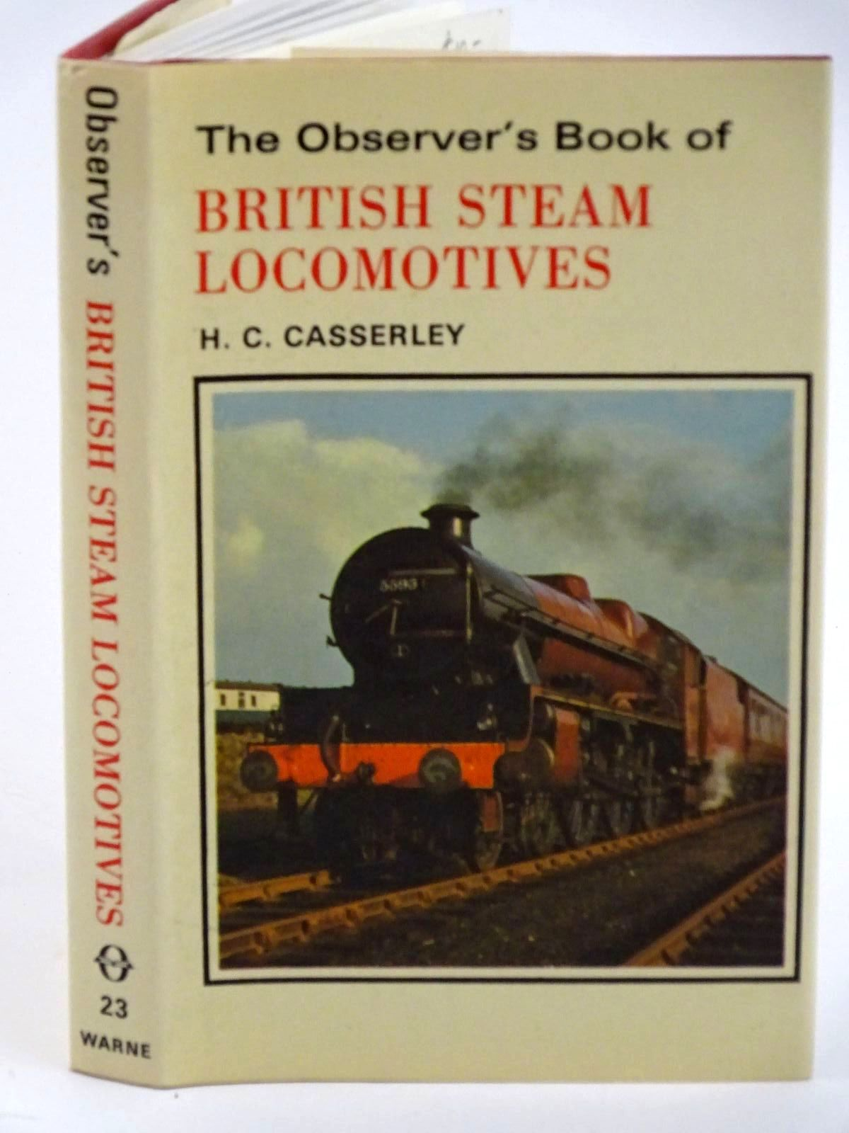 Photo of THE OBSERVER'S BOOK OF BRITISH STEAM LOCOMOTIVES- Stock Number: 1318114