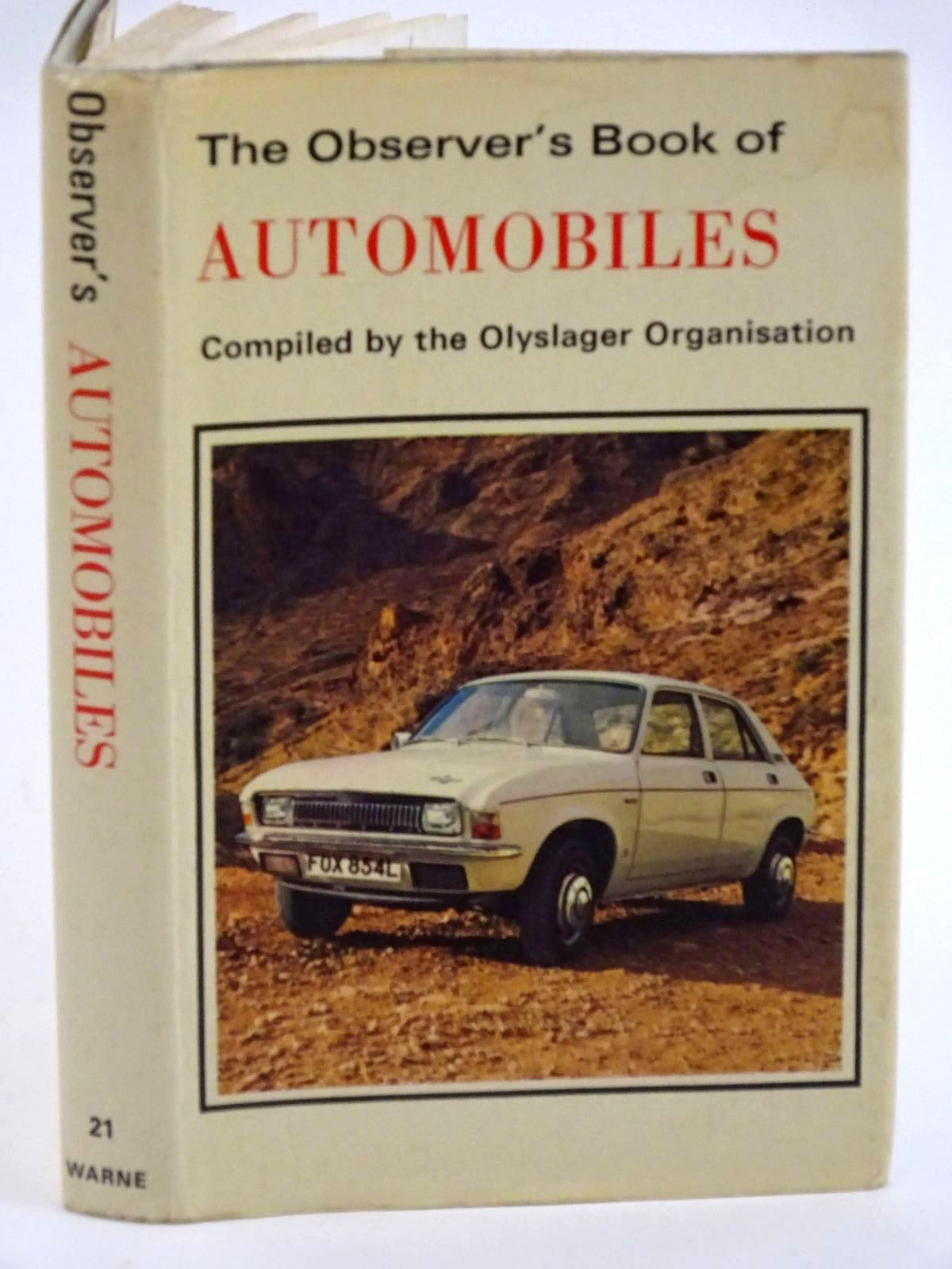 Photo of THE OBSERVER'S BOOK OF AUTOMOBILES published by Frederick Warne & Co Ltd. (STOCK CODE: 1318115)  for sale by Stella & Rose's Books