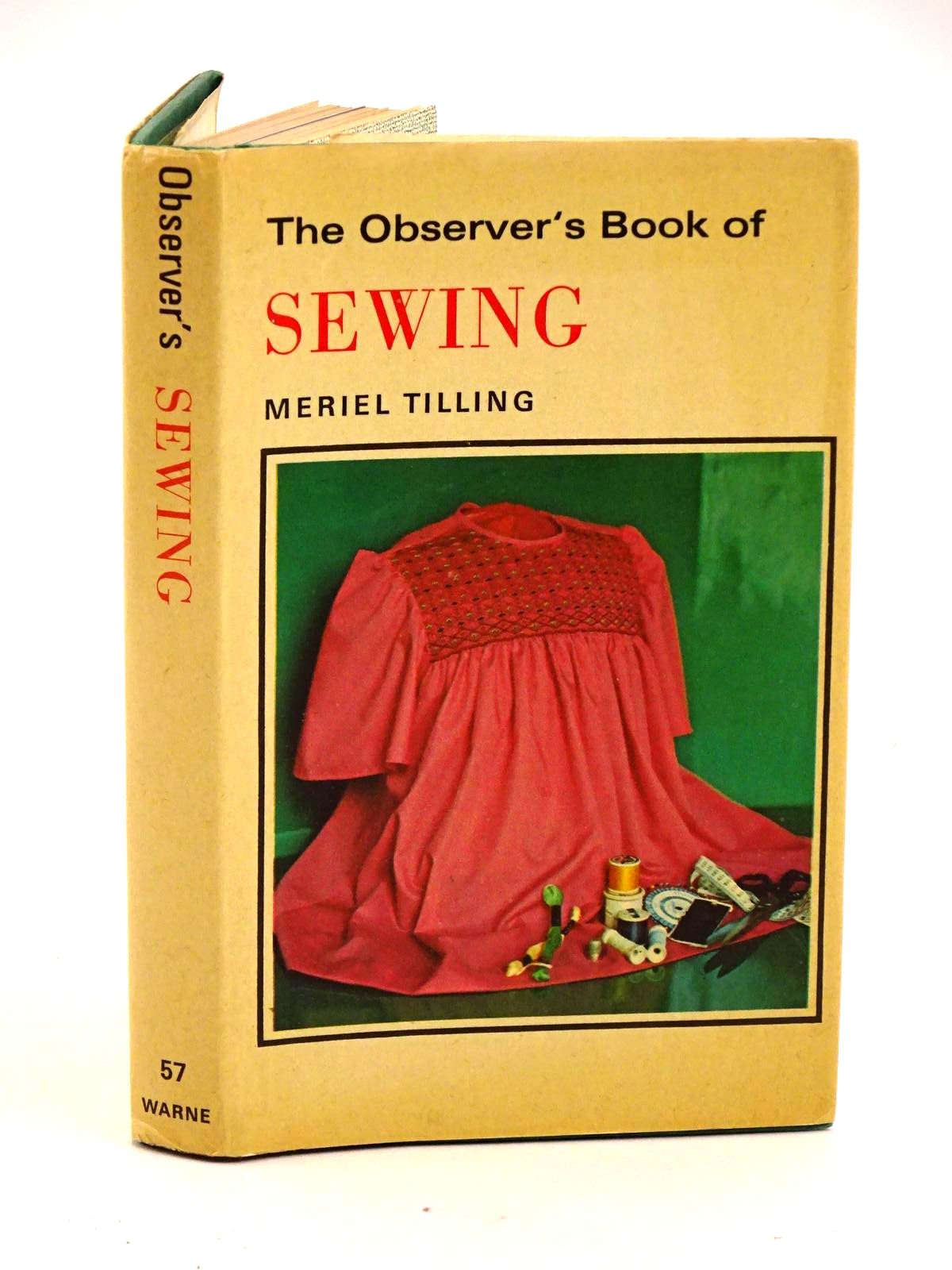 Photo of THE OBSERVER'S BOOK OF SEWING- Stock Number: 1318132