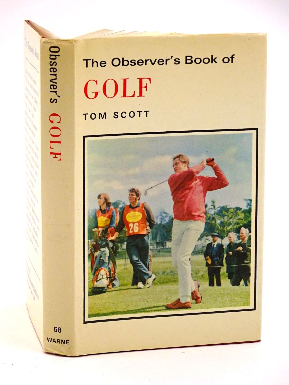 Photo of THE OBSERVER'S BOOK OF GOLF- Stock Number: 1318133