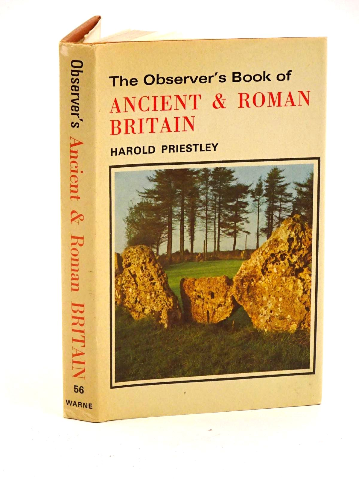 Photo of THE OBSERVER'S BOOK OF ANCIENT AND ROMAN BRITAIN written by Priestley, Harold published by Frederick Warne & Co Ltd. (STOCK CODE: 1318135)  for sale by Stella & Rose's Books