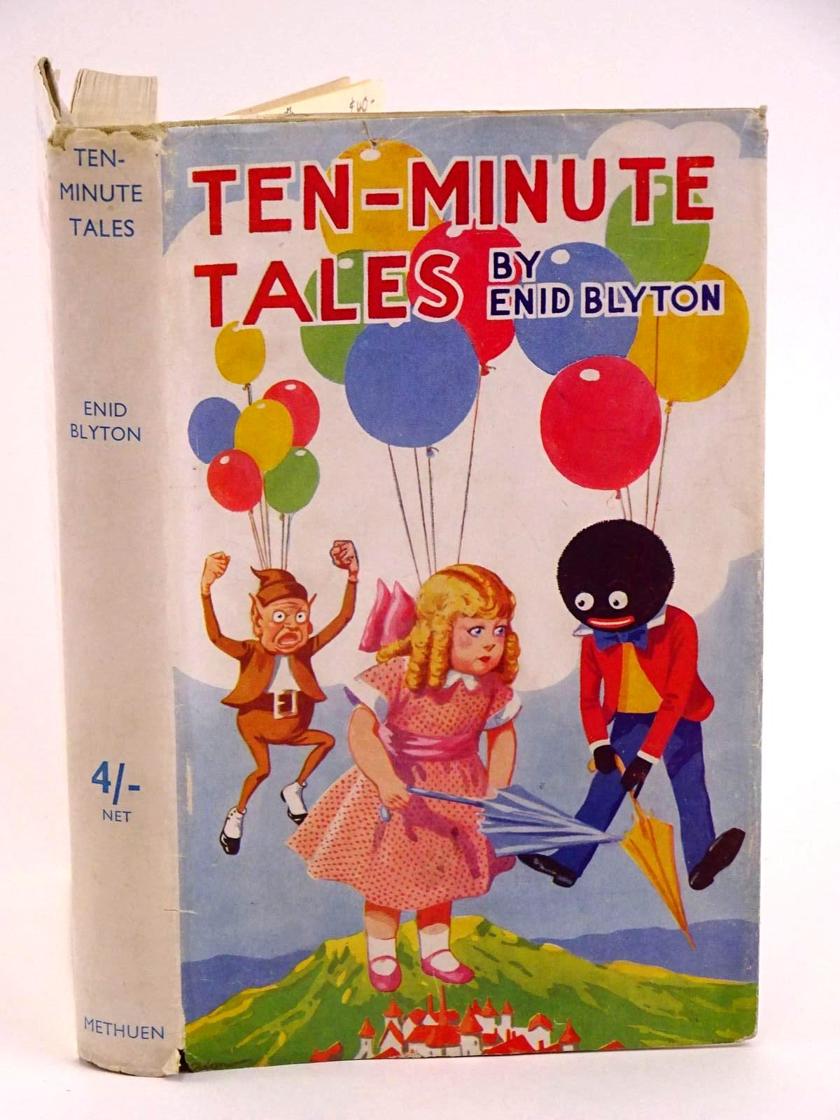 Photo of TEN-MINUTE TALES written by Blyton, Enid published by Methuen & Co. Ltd. (STOCK CODE: 1318151)  for sale by Stella & Rose's Books