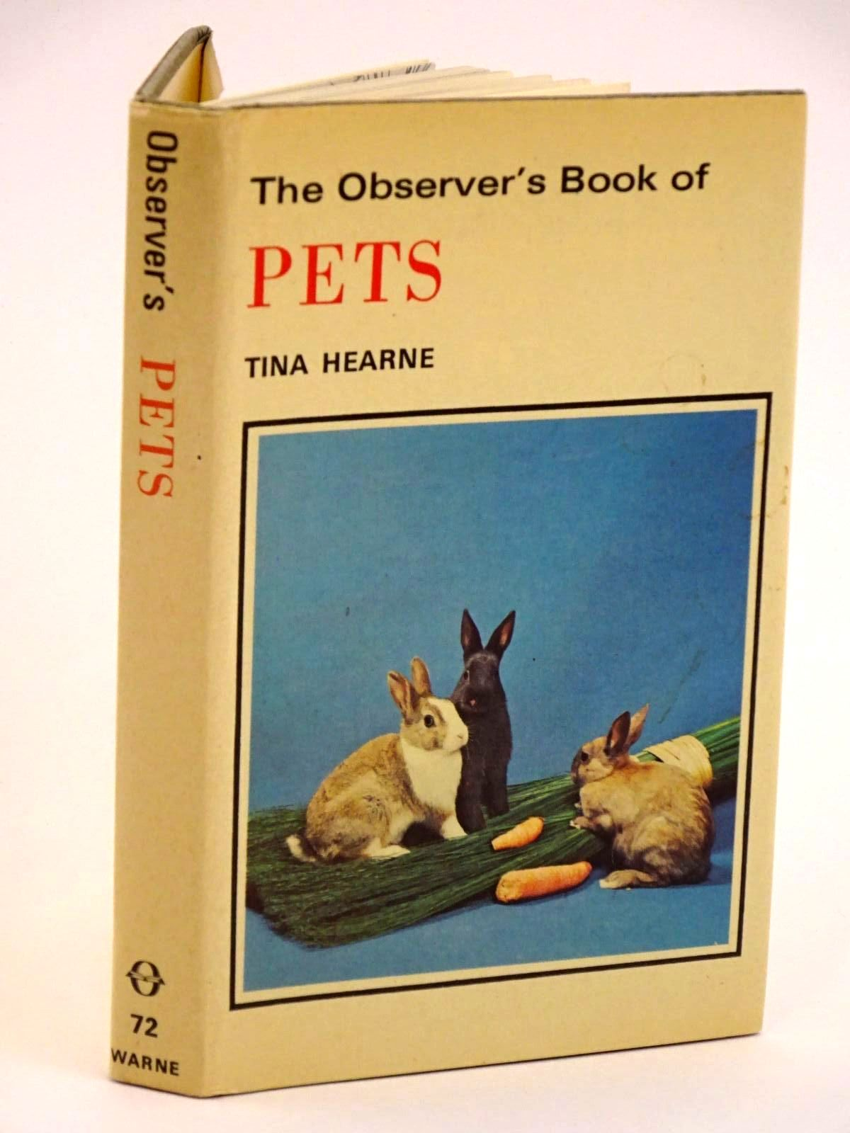 Photo of THE OBSERVER'S BOOK OF PETS written by Hearne, Tina illustrated by Bousefield, Christine<br />Davis, Reginald<br />East, Baz published by Frederick Warne &amp; Co Ltd. (STOCK CODE: 1318162)  for sale by Stella & Rose's Books
