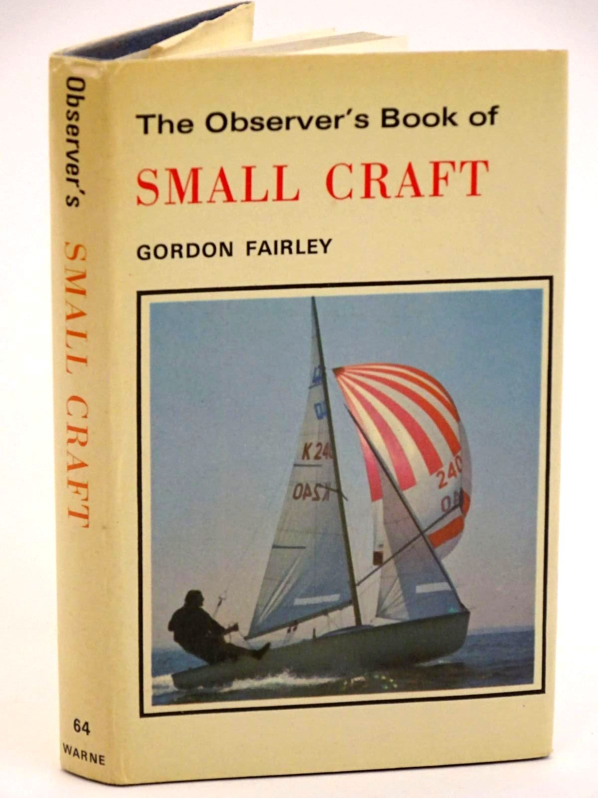 Photo of THE OBSERVER'S BOOK OF SMALL CRAFT- Stock Number: 1318165