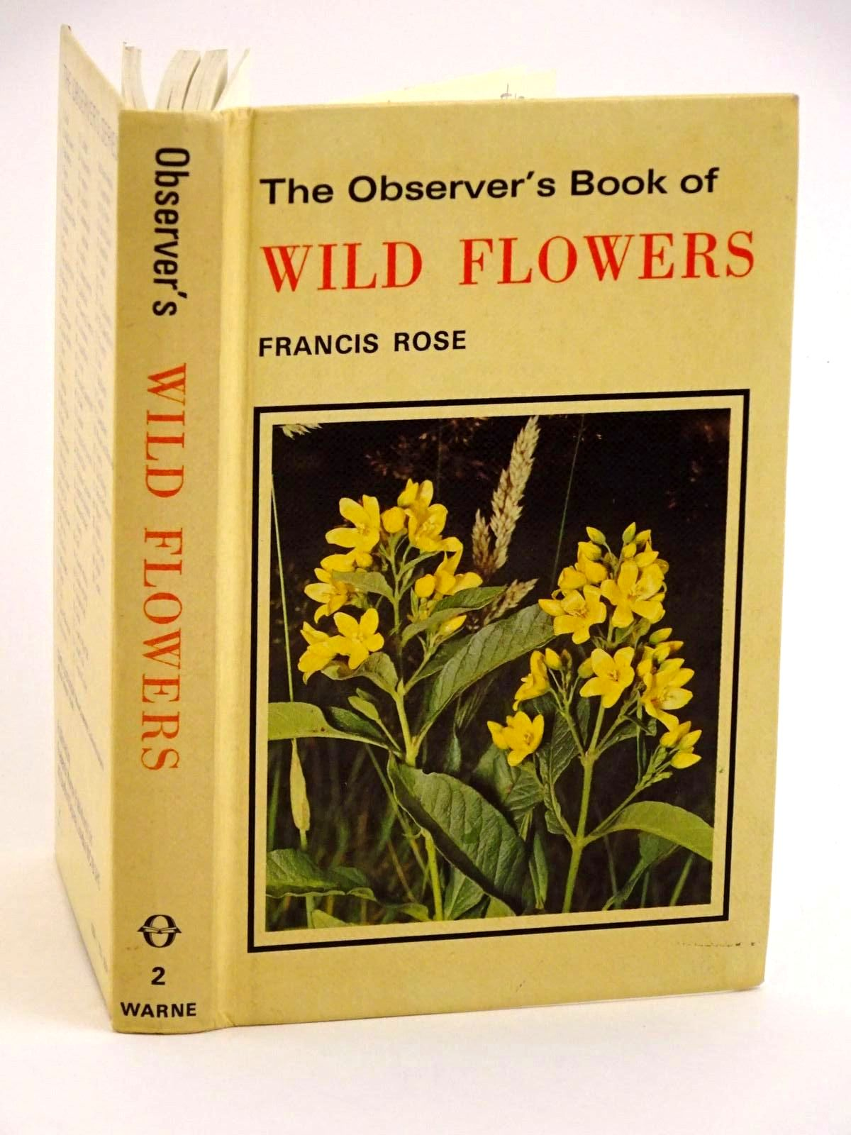 Photo of THE OBSERVER'S BOOK OF WILD FLOWERS written by Rose, Francis illustrated by Davis, R.B. published by Frederick Warne (STOCK CODE: 1318166)  for sale by Stella & Rose's Books