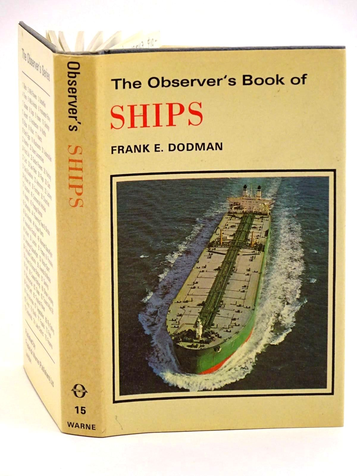 Photo of THE OBSERVER'S BOOK OF SHIPS- Stock Number: 1318167