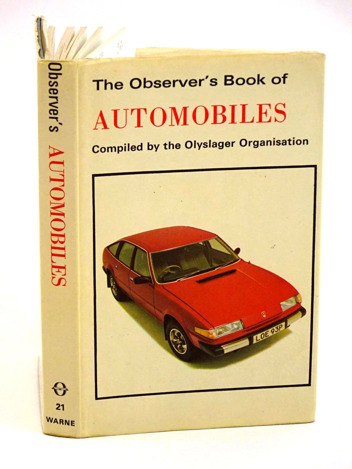 Photo of THE OBSERVER'S BOOK OF AUTOMOBILES written by Turner, Michael published by Frederick Warne & Co Ltd. (STOCK CODE: 1318168)  for sale by Stella & Rose's Books