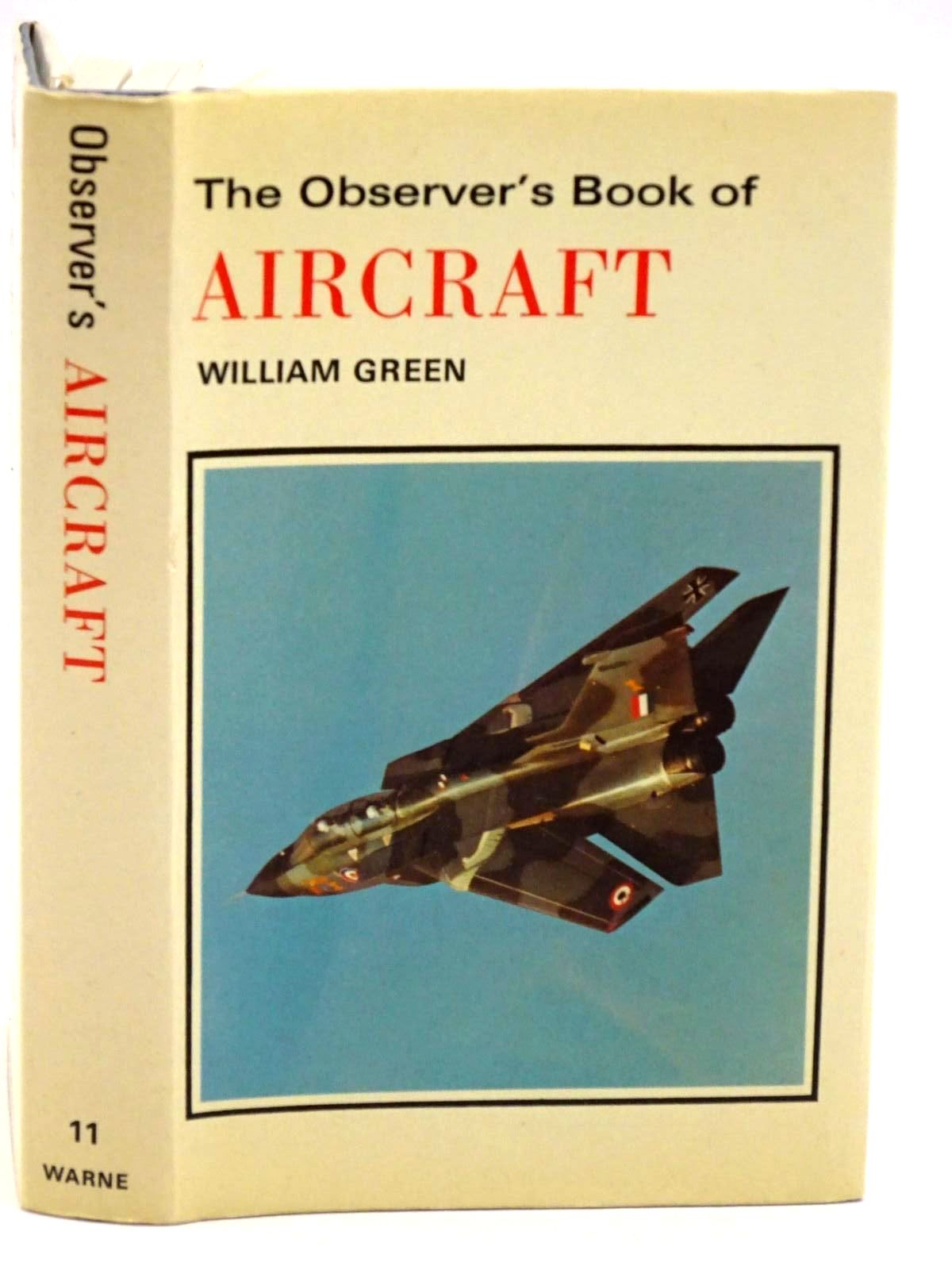 Photo of THE OBSERVER'S BOOK OF AIRCRAFT- Stock Number: 1318169