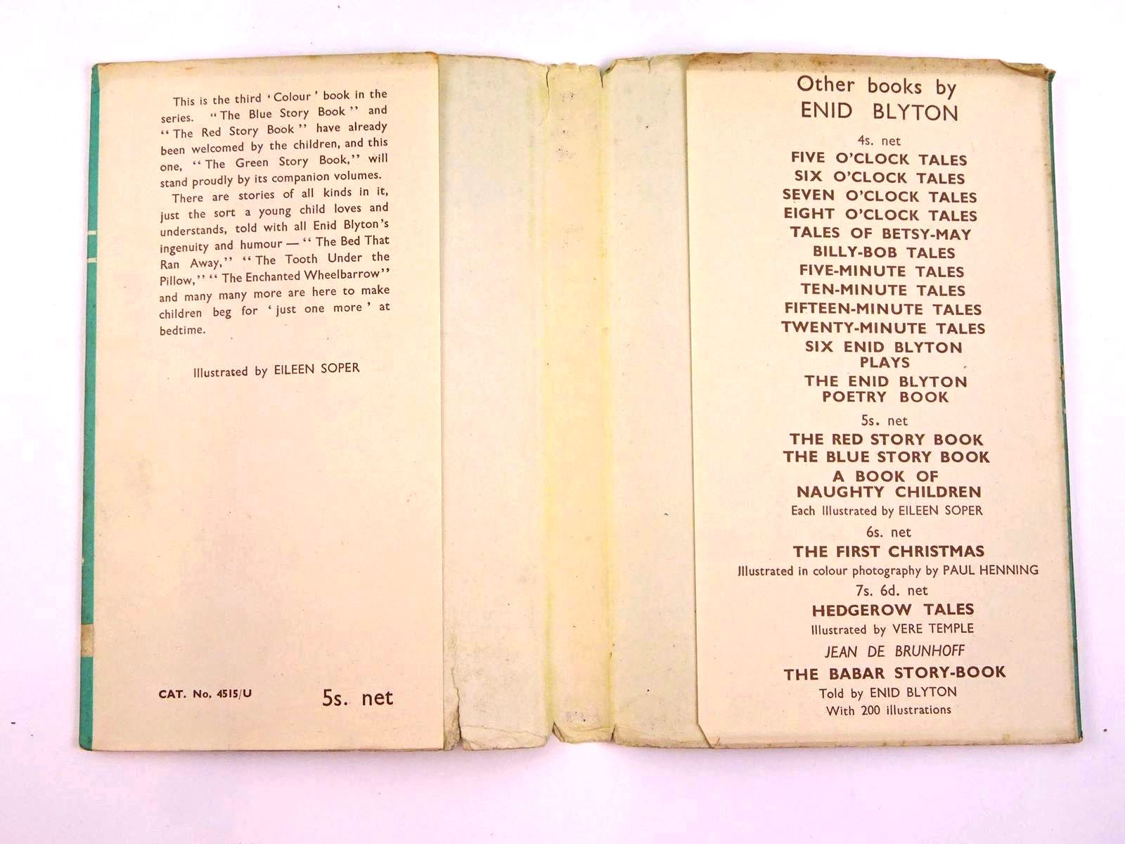 Photo of THE GREEN STORY BOOK written by Blyton, Enid illustrated by Soper, Eileen published by Methuen & Co. Ltd. (STOCK CODE: 1318171)  for sale by Stella & Rose's Books