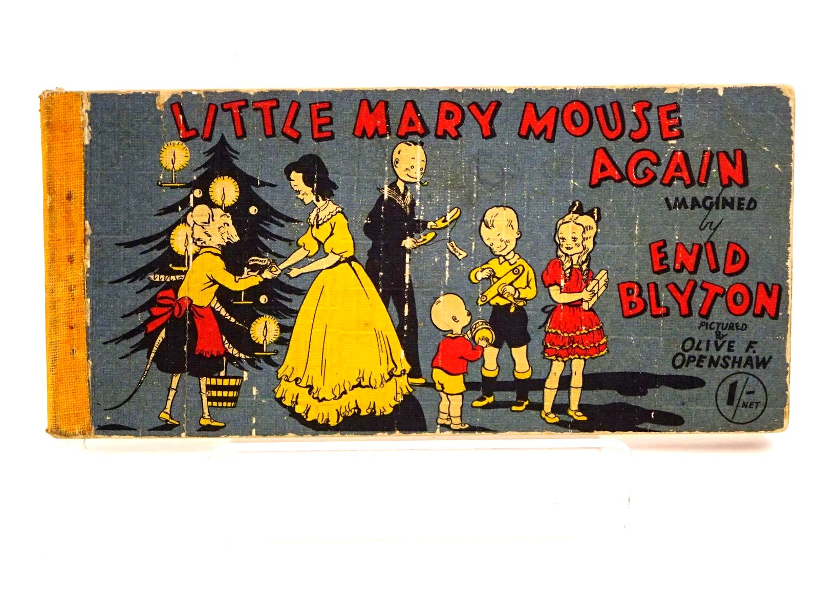 Photo of LITTLE MARY MOUSE AGAIN written by Blyton, Enid illustrated by Openshaw, Olive F. published by Brockhampton Press (STOCK CODE: 1318184)  for sale by Stella & Rose's Books