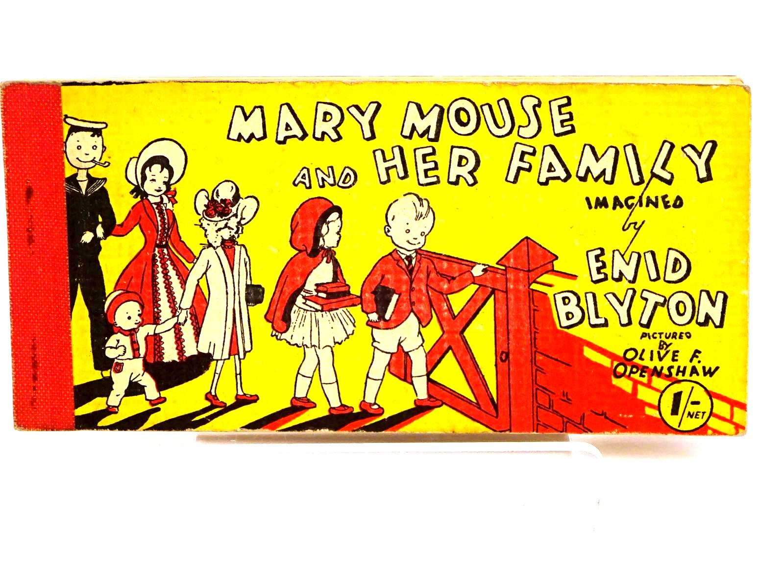 Photo of MARY MOUSE AND HER FAMILY written by Blyton, Enid illustrated by Openshaw, Olive F. published by Brockhampton Press Ltd. (STOCK CODE: 1318225)  for sale by Stella & Rose's Books