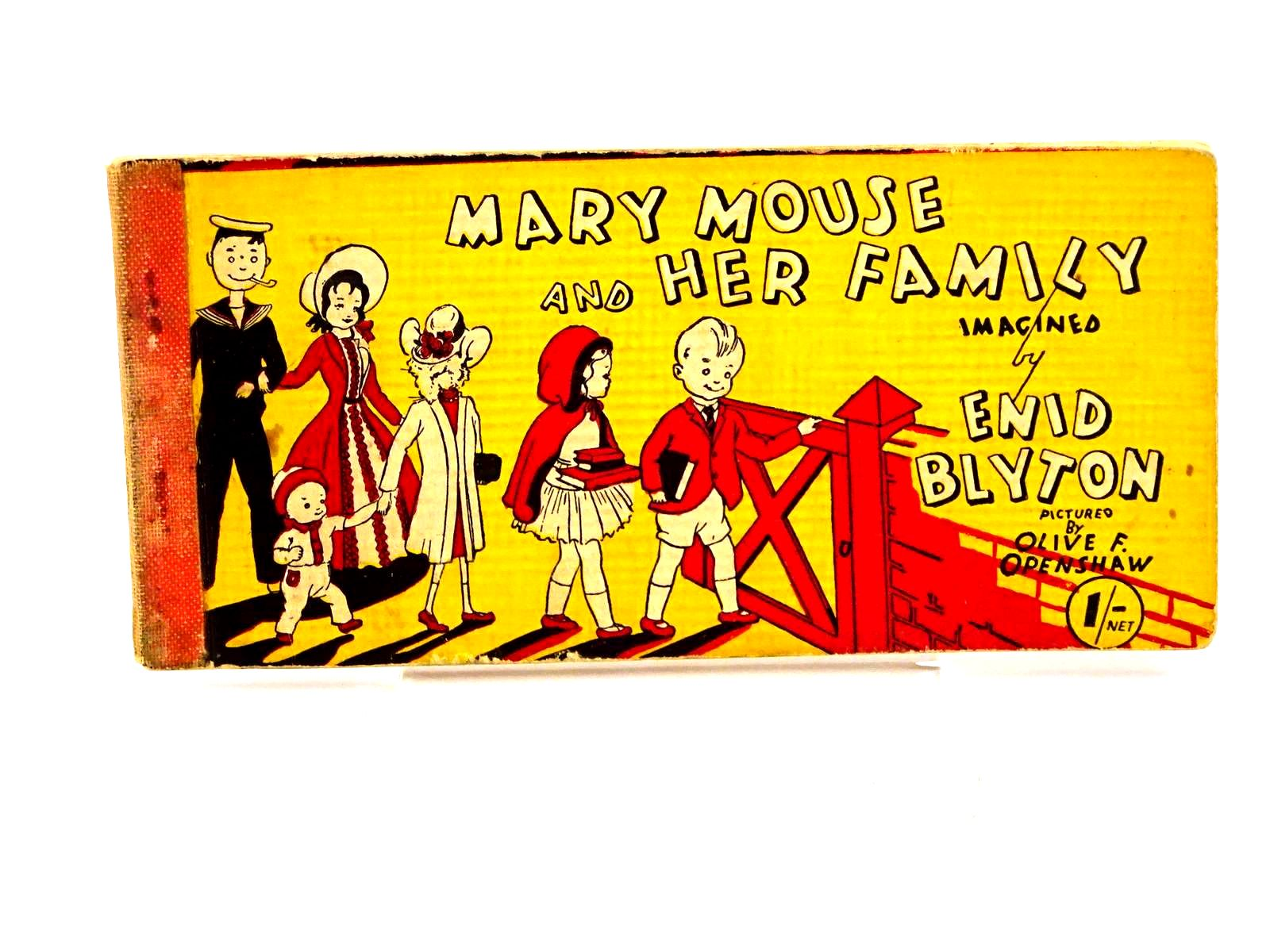Photo of MARY MOUSE AND HER FAMILY written by Blyton, Enid illustrated by Openshaw, Olive F. published by Brockhampton Press Ltd. (STOCK CODE: 1318229)  for sale by Stella & Rose's Books