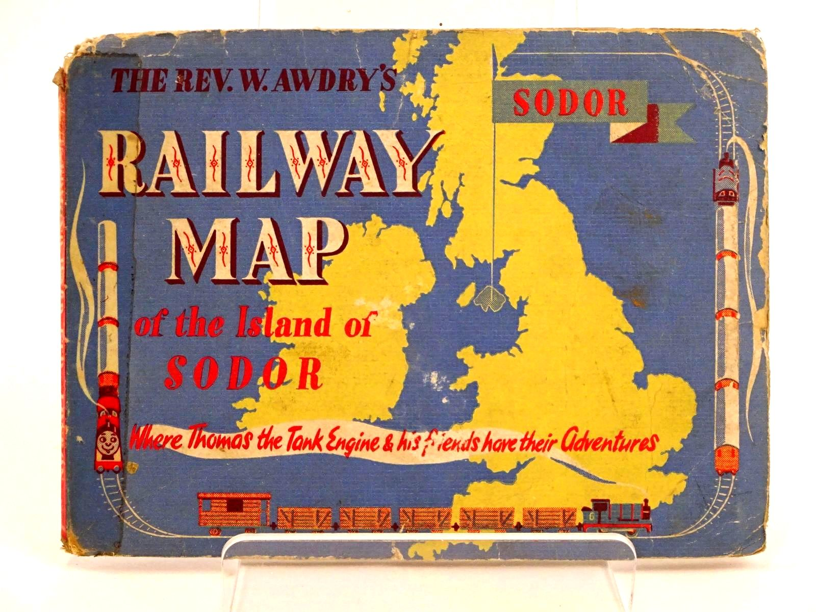 Photo of RAILWAY MAP OF THE ISLAND OF SODOR- Stock Number: 1318231