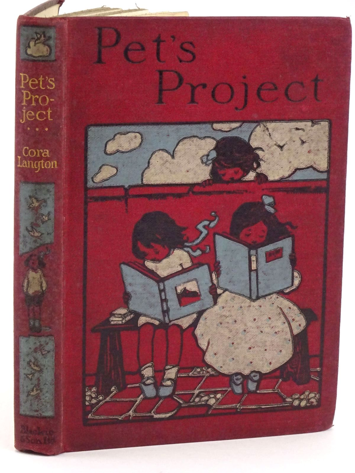 Photo of PET'S PROJECT written by Langton, Cora published by Blackie And Son Limited, Blackie (STOCK CODE: 1318247)  for sale by Stella & Rose's Books