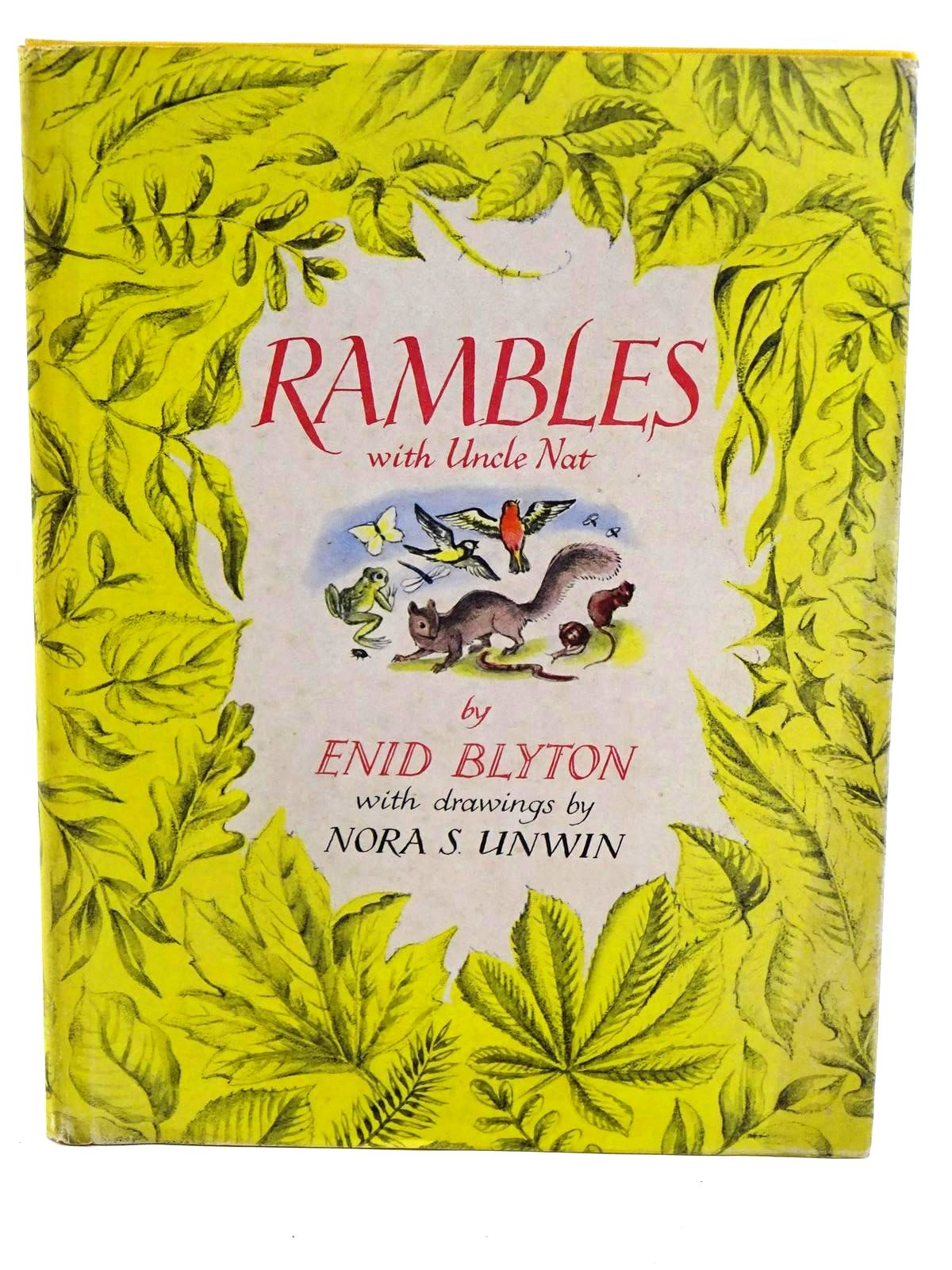 Photo of RAMBLES WITH UNCLE NAT written by Blyton, Enid illustrated by Unwin, Nora published by The National Magazine Co. Ltd. (STOCK CODE: 1318256)  for sale by Stella & Rose's Books