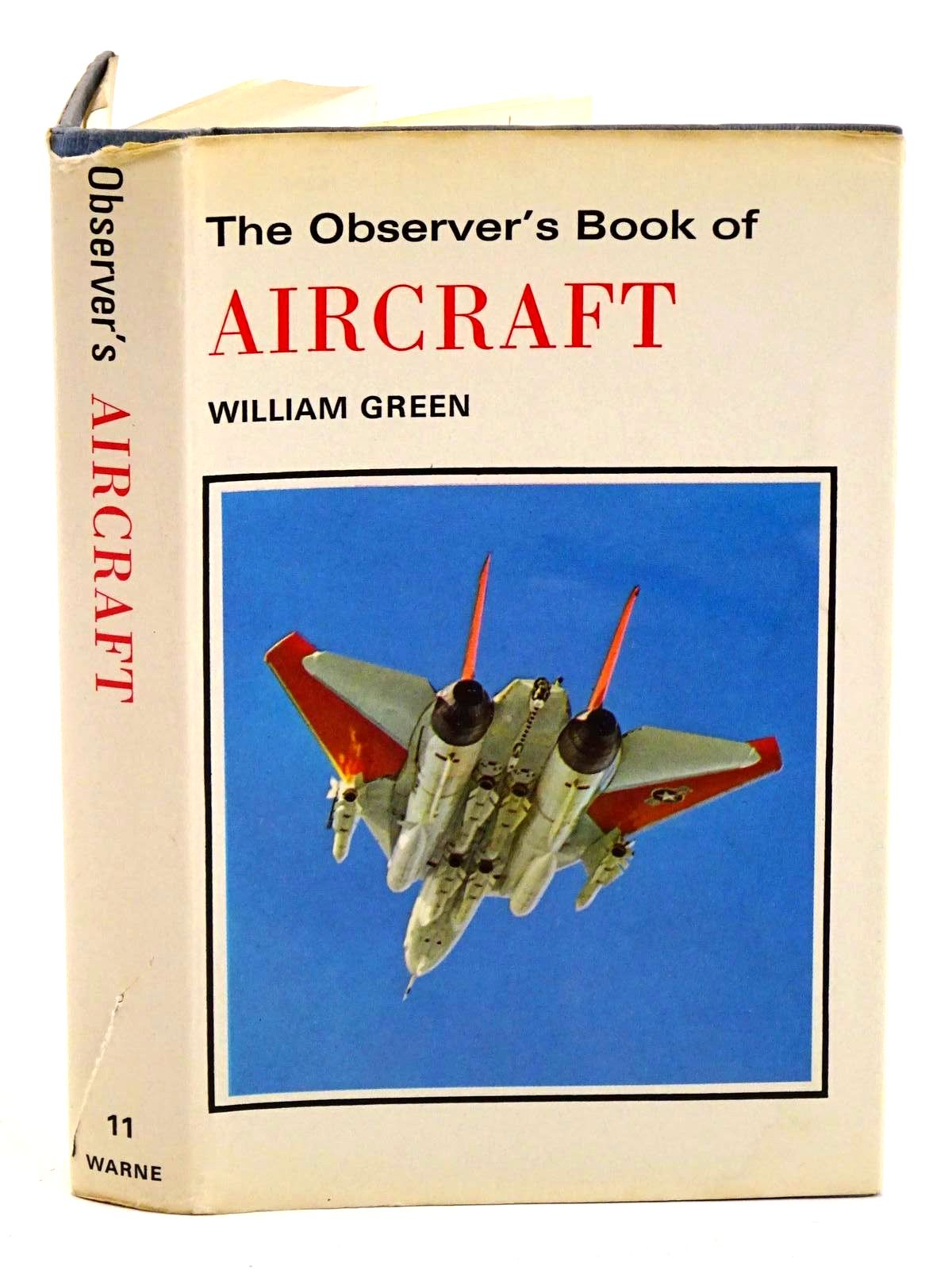 Photo of THE OBSERVER'S BOOK OF AIRCRAFT written by Green, William illustrated by Punnett, Dennis published by Frederick Warne & Co Ltd. (STOCK CODE: 1318268)  for sale by Stella & Rose's Books