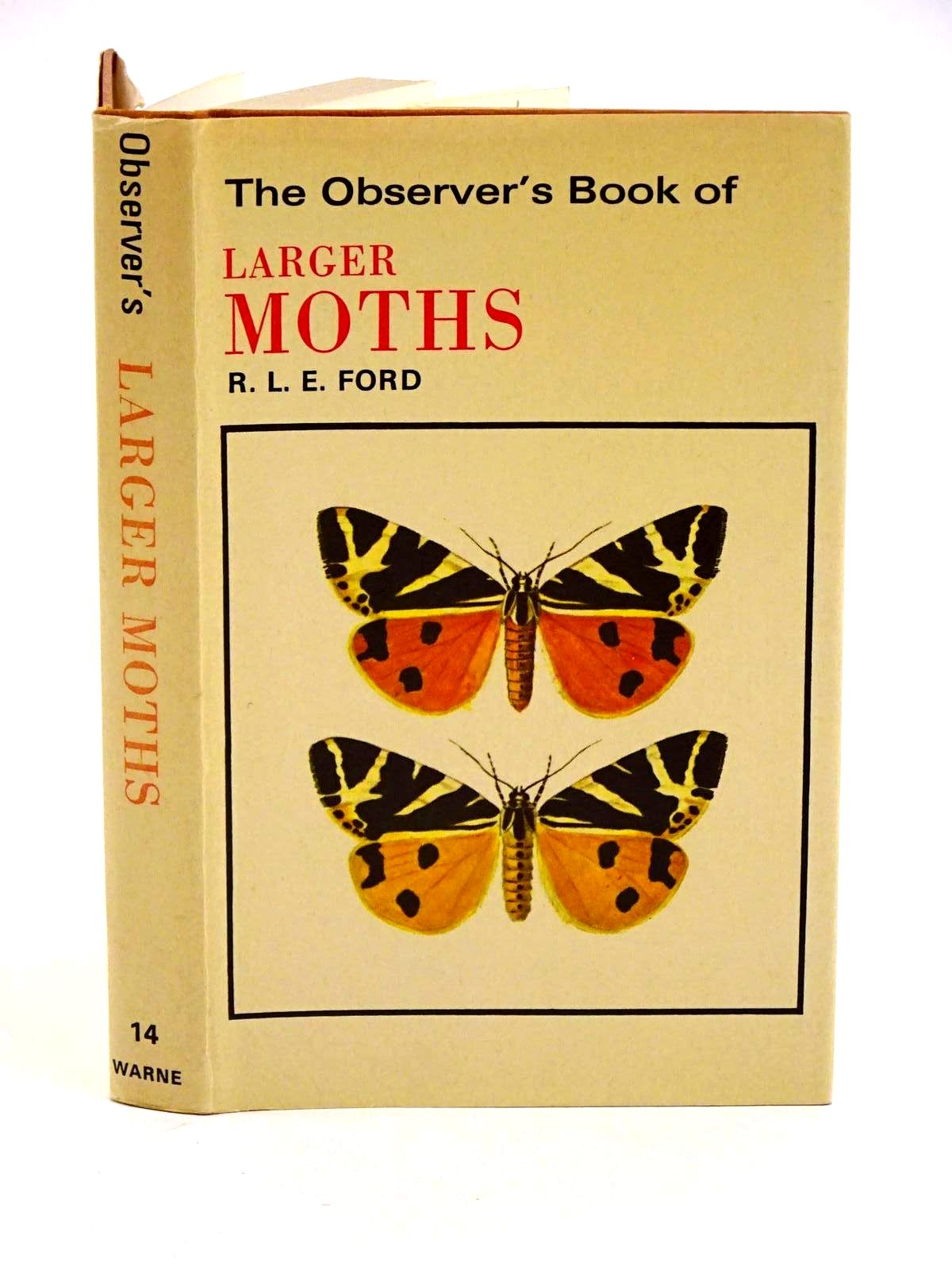 Photo of THE OBSERVER'S BOOK OF LARGER MOTHS- Stock Number: 1318271
