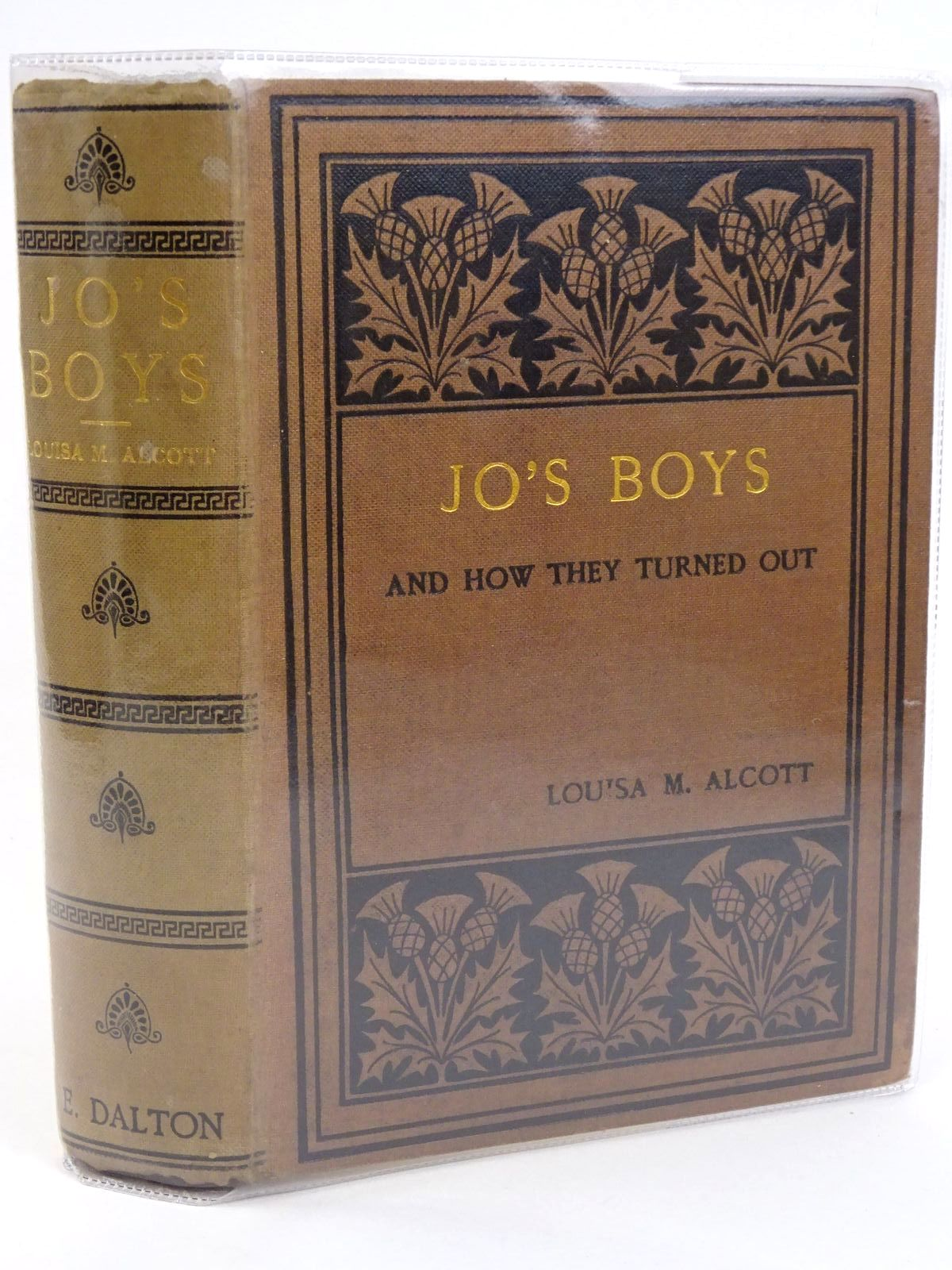 Photo of JO'S BOYS AND HOW THEY TURNED OUT written by Alcott, Louisa M. illustrated by Ahrens, Ellen Wetherald published by Sampson Low, Marston & Co. Ltd. (STOCK CODE: 1318284)  for sale by Stella & Rose's Books