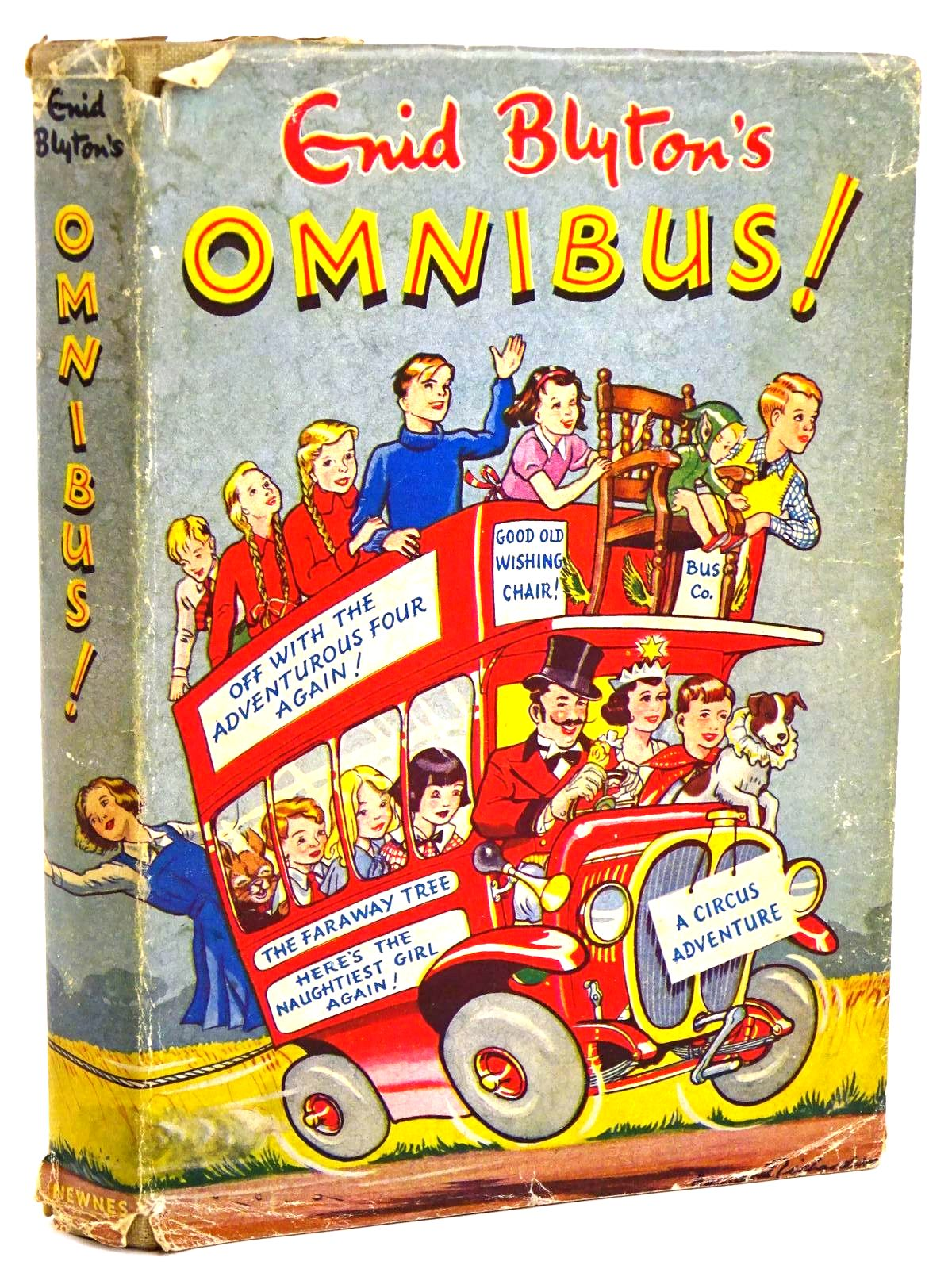 Photo of ENID BLYTON'S OMNIBUS! written by Blyton, Enid illustrated by Land, Jessie McGavin, Hilda Davie, E.H. Wheeler, Dorothy Kay,  published by George Newnes Ltd. (STOCK CODE: 1318316)  for sale by Stella & Rose's Books