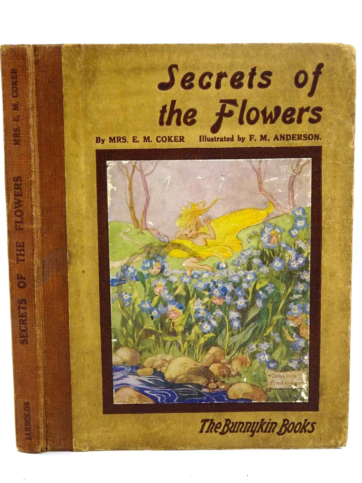 Photo of SECRETS OF THE FLOWERS written by Coker, Mrs. E.M. illustrated by Anderson, Florence Mary published by Jarrolds Publishers (STOCK CODE: 1318324)  for sale by Stella & Rose's Books