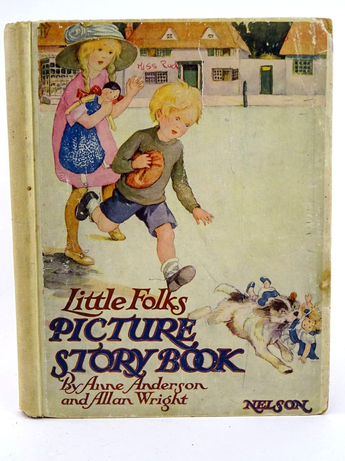 Photo of LITTLE FOLKS' PICTURE STORY BOOK written by Talbot, Ethel<br />Heward, Constance<br />Brazil, Angela<br />et al, illustrated by Anderson, Anne<br />Wright, Alan published by Thomas Nelson and Sons Ltd. (STOCK CODE: 1318325)  for sale by Stella & Rose's Books