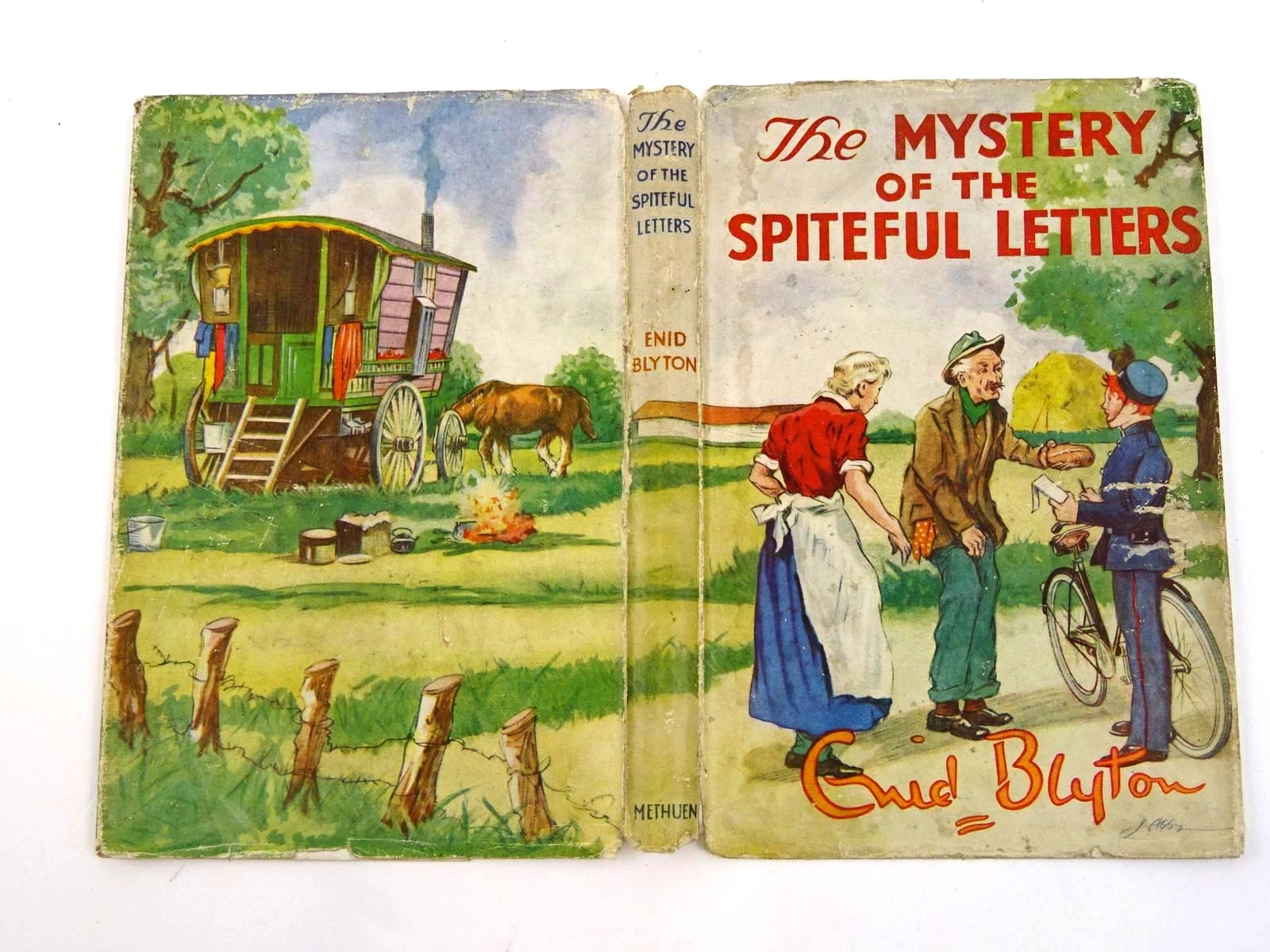 Photo of THE MYSTERY OF THE SPITEFUL LETTERS written by Blyton, Enid illustrated by Abbey, J. published by Methuen & Co. Ltd. (STOCK CODE: 1318339)  for sale by Stella & Rose's Books