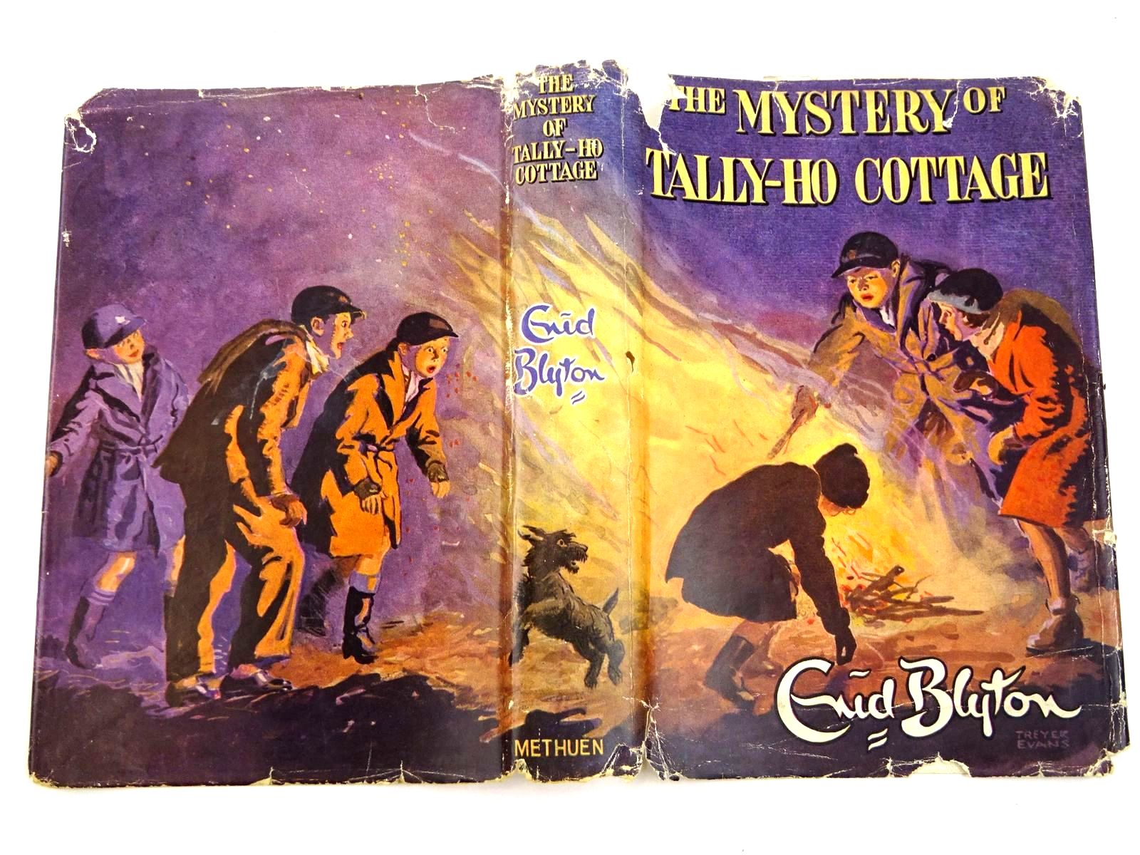 Photo of THE MYSTERY OF TALLY-HO COTTAGE written by Blyton, Enid illustrated by Evans, Treyer published by Methuen & Co. Ltd. (STOCK CODE: 1318340)  for sale by Stella & Rose's Books