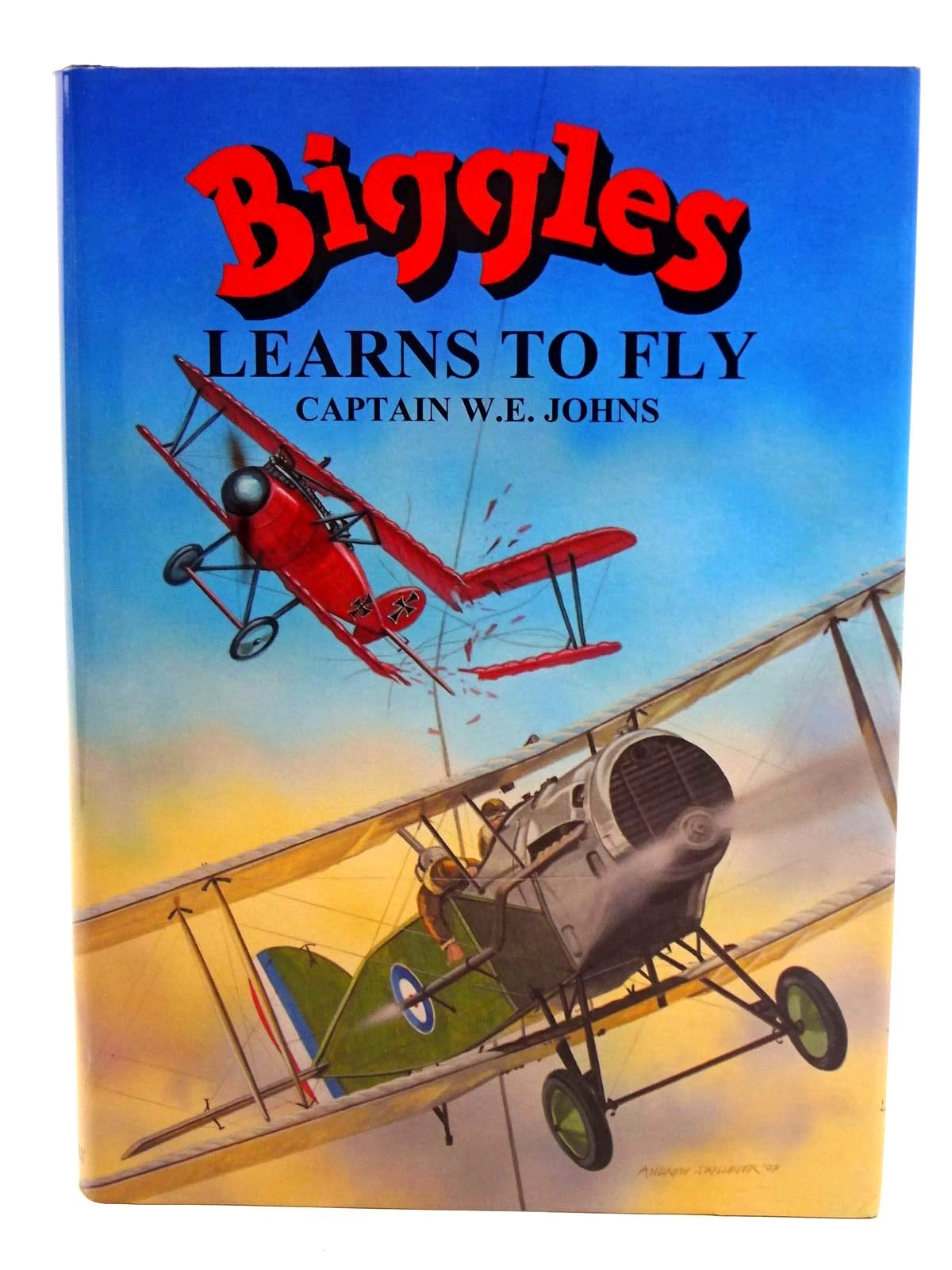 Photo of BIGGLES LEARNS TO FLY written by Johns, W.E. illustrated by Skilleter, Andrew published by Norman Wright (STOCK CODE: 1318342)  for sale by Stella & Rose's Books