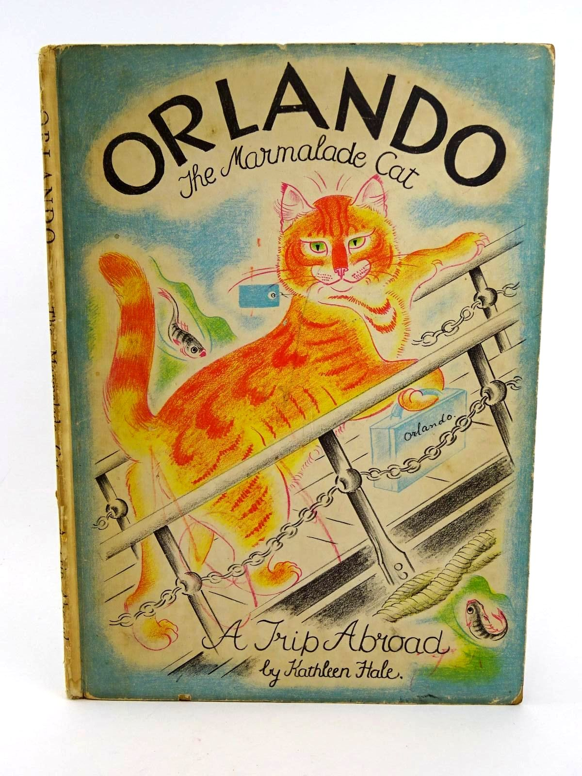 Photo of ORLANDO (THE MARMALADE CAT) A TRIP ABROAD- Stock Number: 1318343