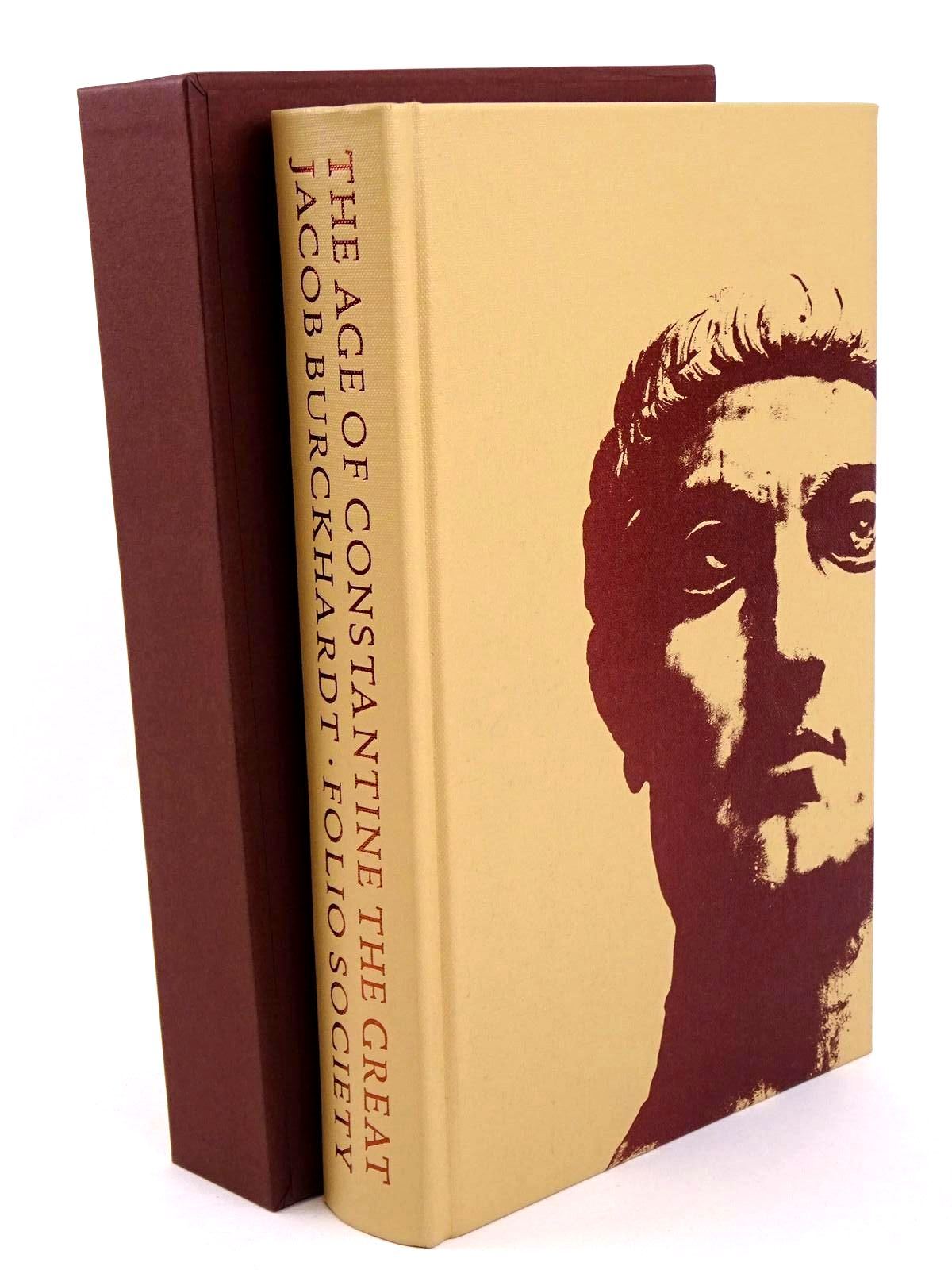 Photo of THE AGE OF CONSTANTINE THE GREAT written by Burckhardt, Jacob published by Folio Society (STOCK CODE: 1318345)  for sale by Stella & Rose's Books