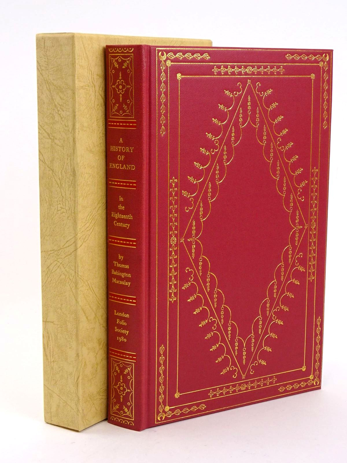 Photo of THE HISTORY OF ENGLAND IN THE EIGHTEENTH CENTURY written by Macaulay, Thomas Babington Rowland, Peter published by Folio Society (STOCK CODE: 1318361)  for sale by Stella & Rose's Books