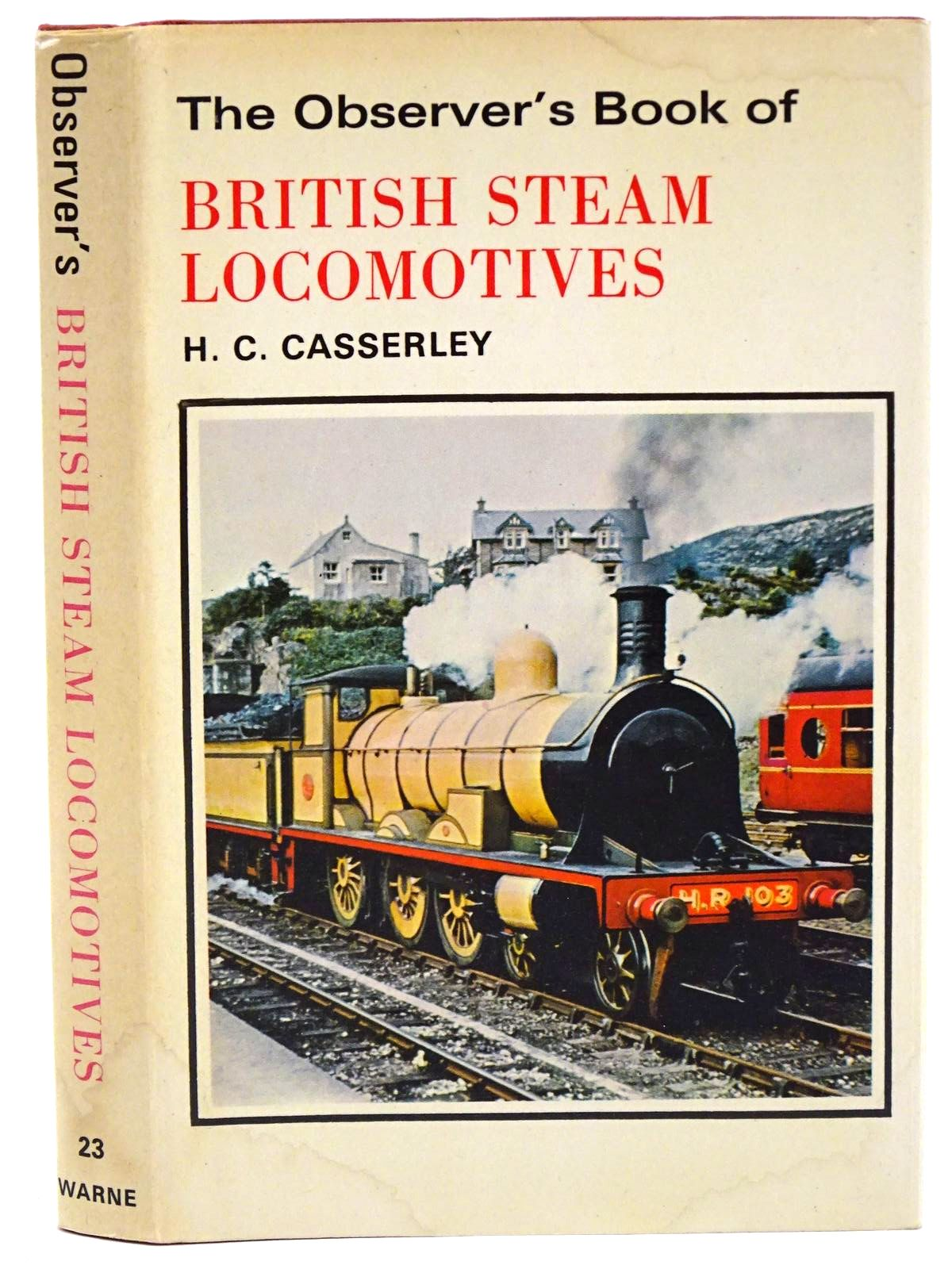 Photo of THE OBSERVER'S BOOK OF BRITISH STEAM LOCOMOTIVES- Stock Number: 1318373