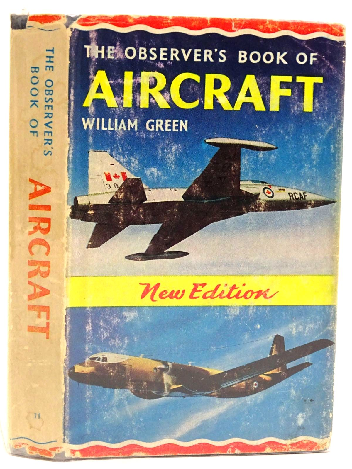 Photo of THE OBSERVER'S BOOK OF AIRCRAFT written by Green, William illustrated by Punnett, Dennis published by Frederick Warne & Co Ltd. (STOCK CODE: 1318375)  for sale by Stella & Rose's Books