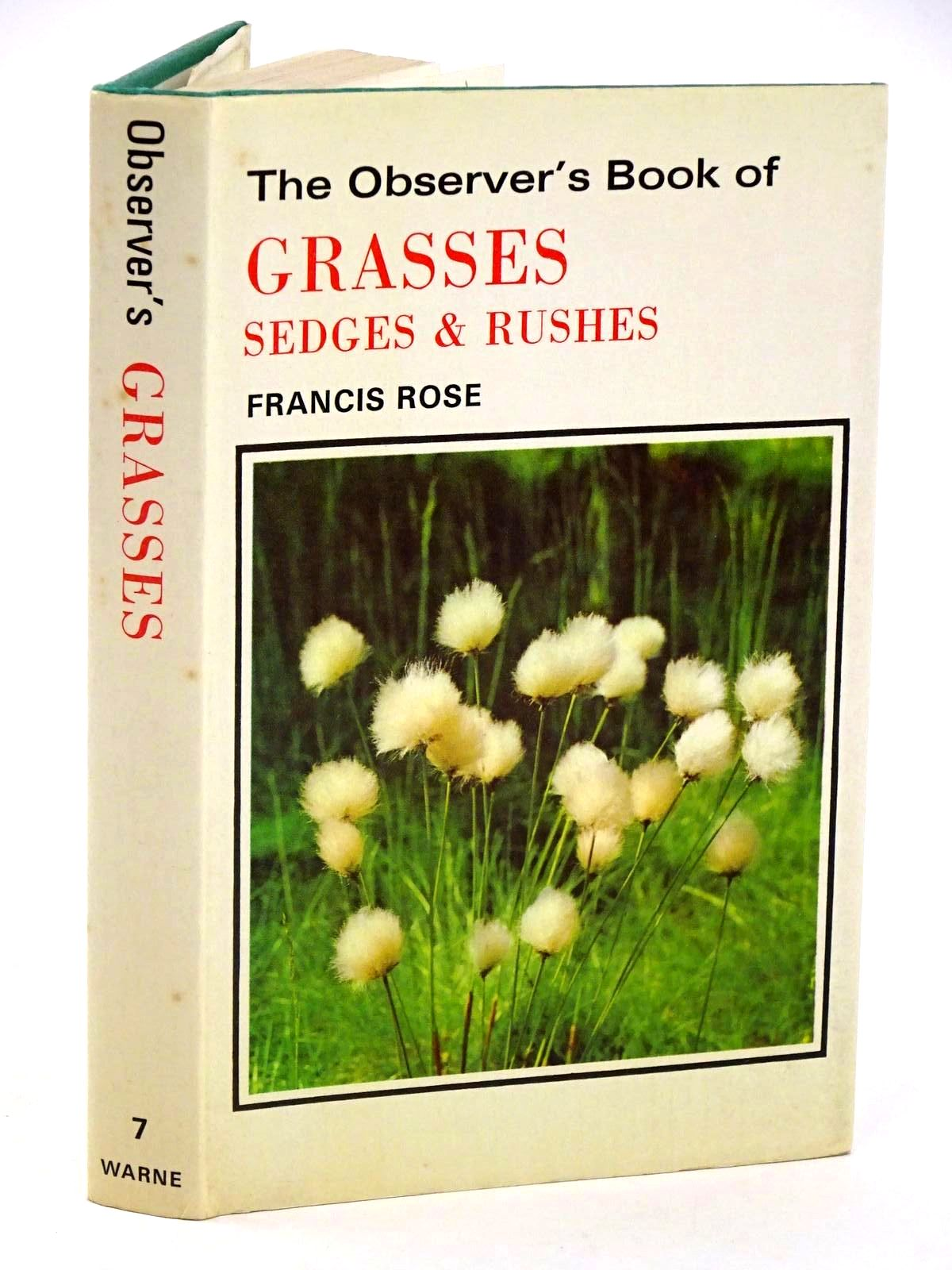 Photo of THE OBSERVER'S BOOK OF GRASSES SEDGES AND RUSHES written by Rose, Francis published by Frederick Warne & Co Ltd. (STOCK CODE: 1318412)  for sale by Stella & Rose's Books