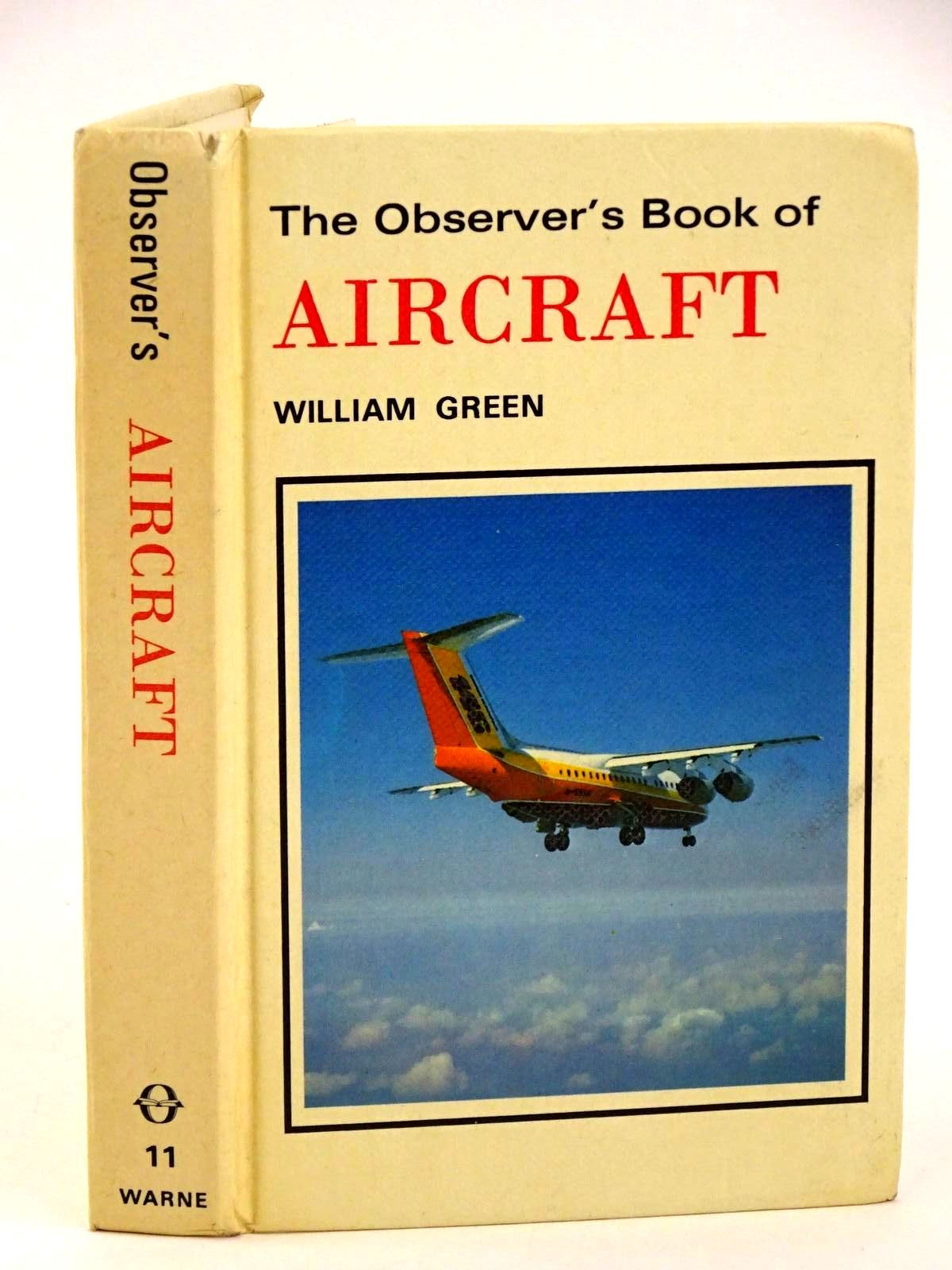 Photo of THE OBSERVER'S BOOK OF AIRCRAFT written by Green, William illustrated by Punnett, Dennis published by Frederick Warne (STOCK CODE: 1318413)  for sale by Stella & Rose's Books