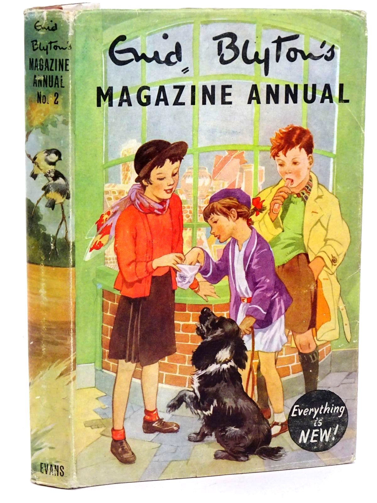 Photo of ENID BLYTON'S MAGAZINE ANNUAL NO. 2 written by Blyton, Enid published by Evans Brothers Limited (STOCK CODE: 1318414)  for sale by Stella & Rose's Books