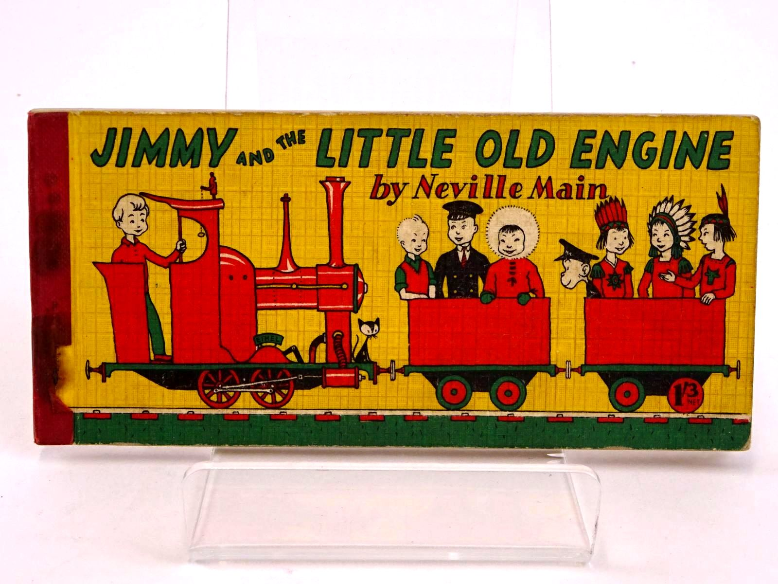 Photo of JIMMY AND THE LITTLE OLD ENGINE written by Main, Neville published by Brockhampton Press (STOCK CODE: 1318418)  for sale by Stella & Rose's Books