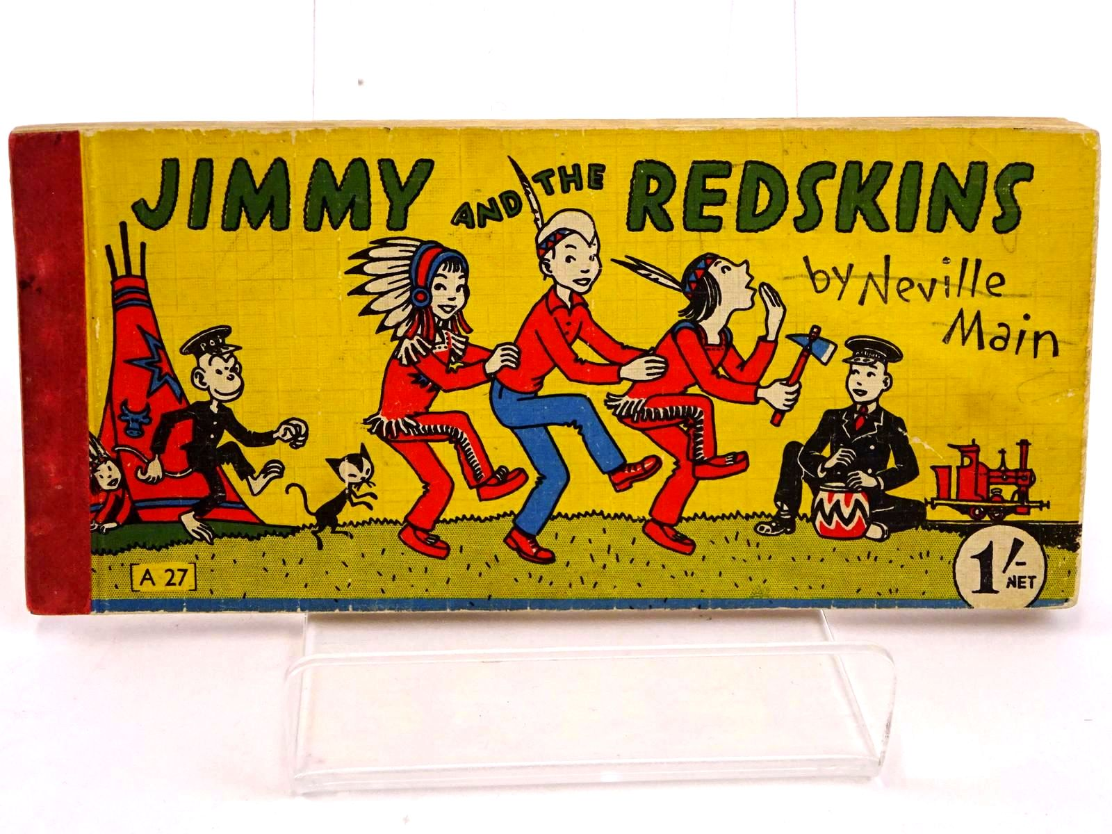 Photo of JIMMY AND THE REDSKINS- Stock Number: 1318420