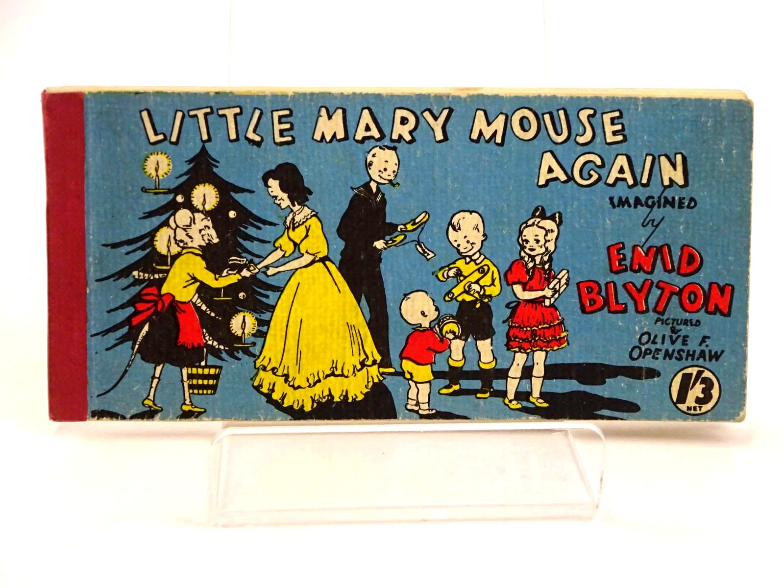 Photo of LITTLE MARY MOUSE AGAIN written by Blyton, Enid illustrated by Openshaw, Olive F. published by Brockhampton Press Ltd. (STOCK CODE: 1318427)  for sale by Stella & Rose's Books