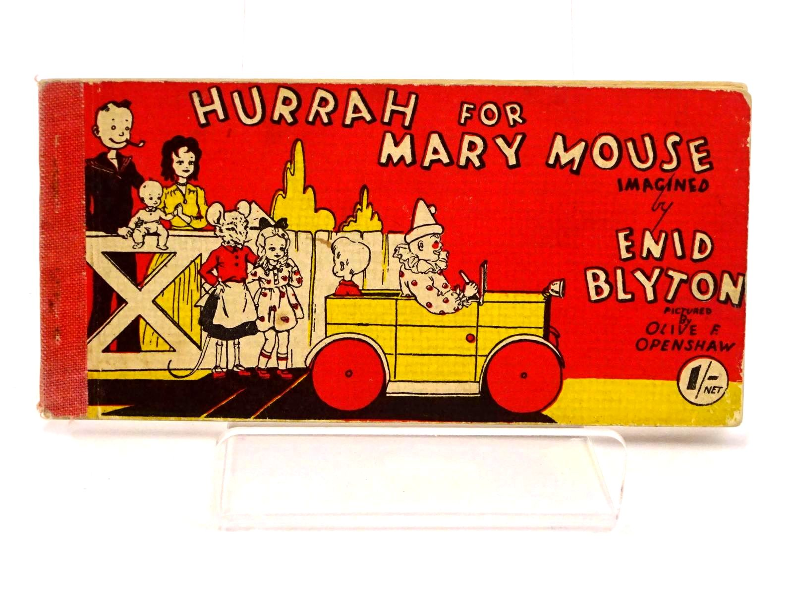 Photo of HURRAH FOR MARY MOUSE written by Blyton, Enid illustrated by Openshaw, Olive F. published by Brockhampton Press (STOCK CODE: 1318438)  for sale by Stella & Rose's Books
