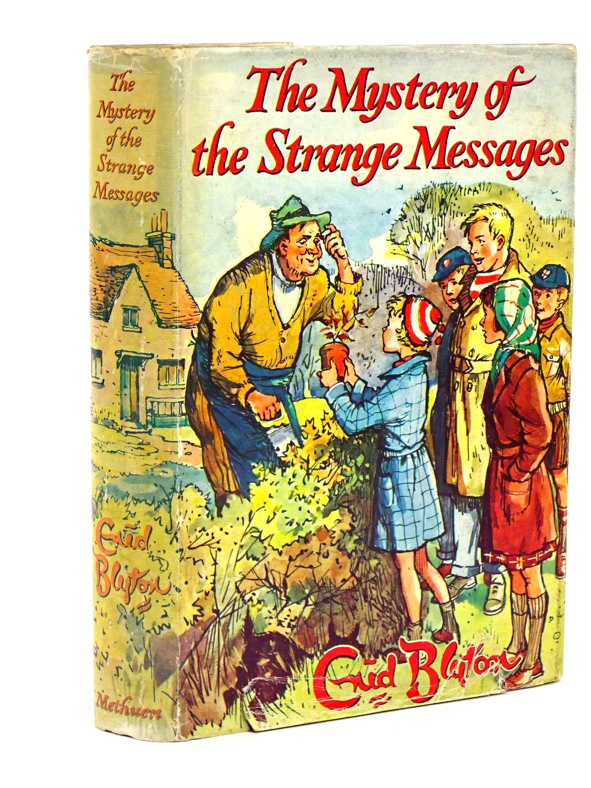 Photo of THE MYSTERY OF THE STRANGE MESSAGES written by Blyton, Enid illustrated by Buchanan, Lilian published by Methuen & Co. Ltd. (STOCK CODE: 1318444)  for sale by Stella & Rose's Books
