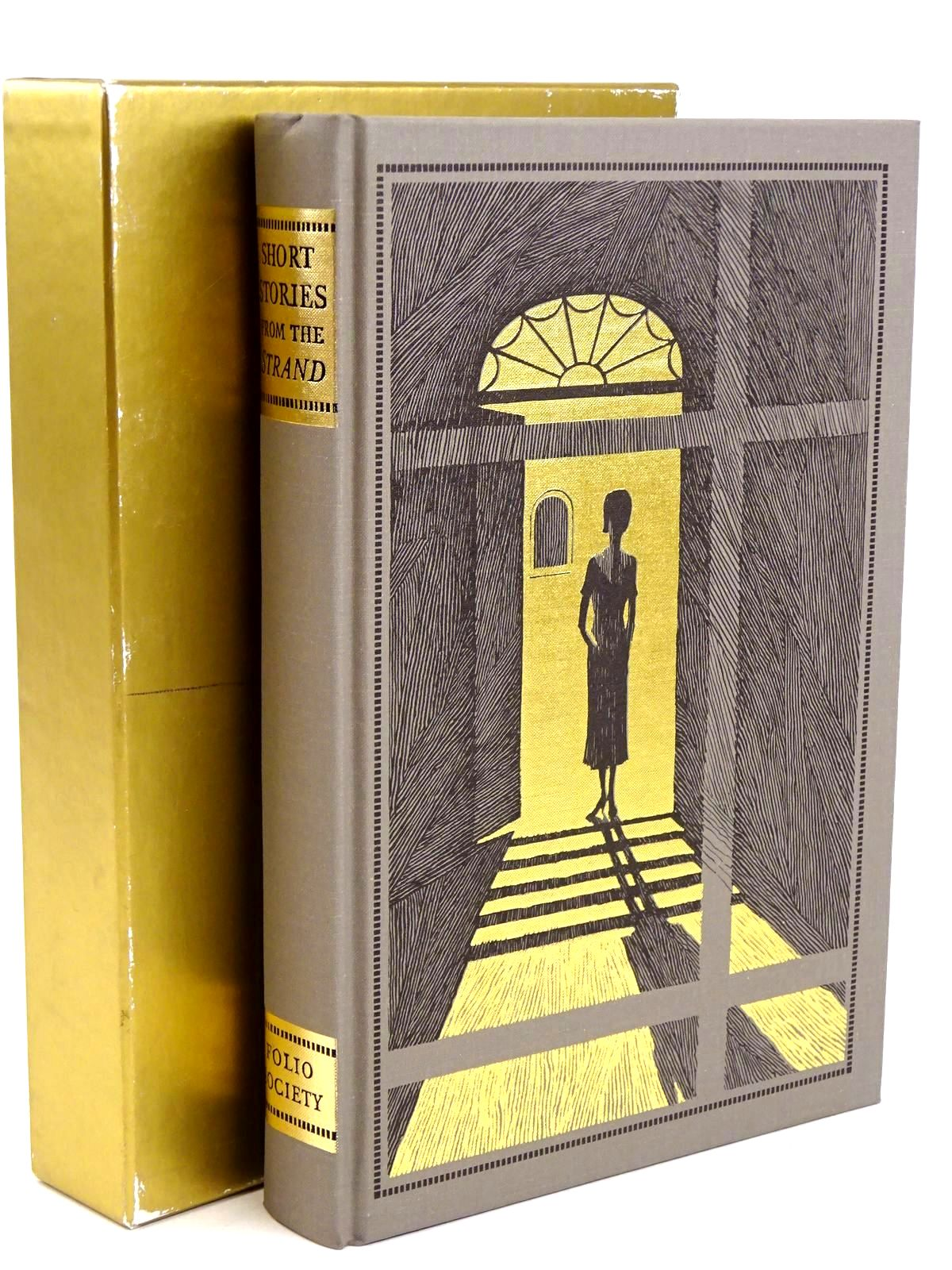 Photo of SHORT STORIES FROM THE 'STRAND' written by Beare, Geraldine illustrated by Eccles, David published by Folio Society (STOCK CODE: 1318452)  for sale by Stella & Rose's Books