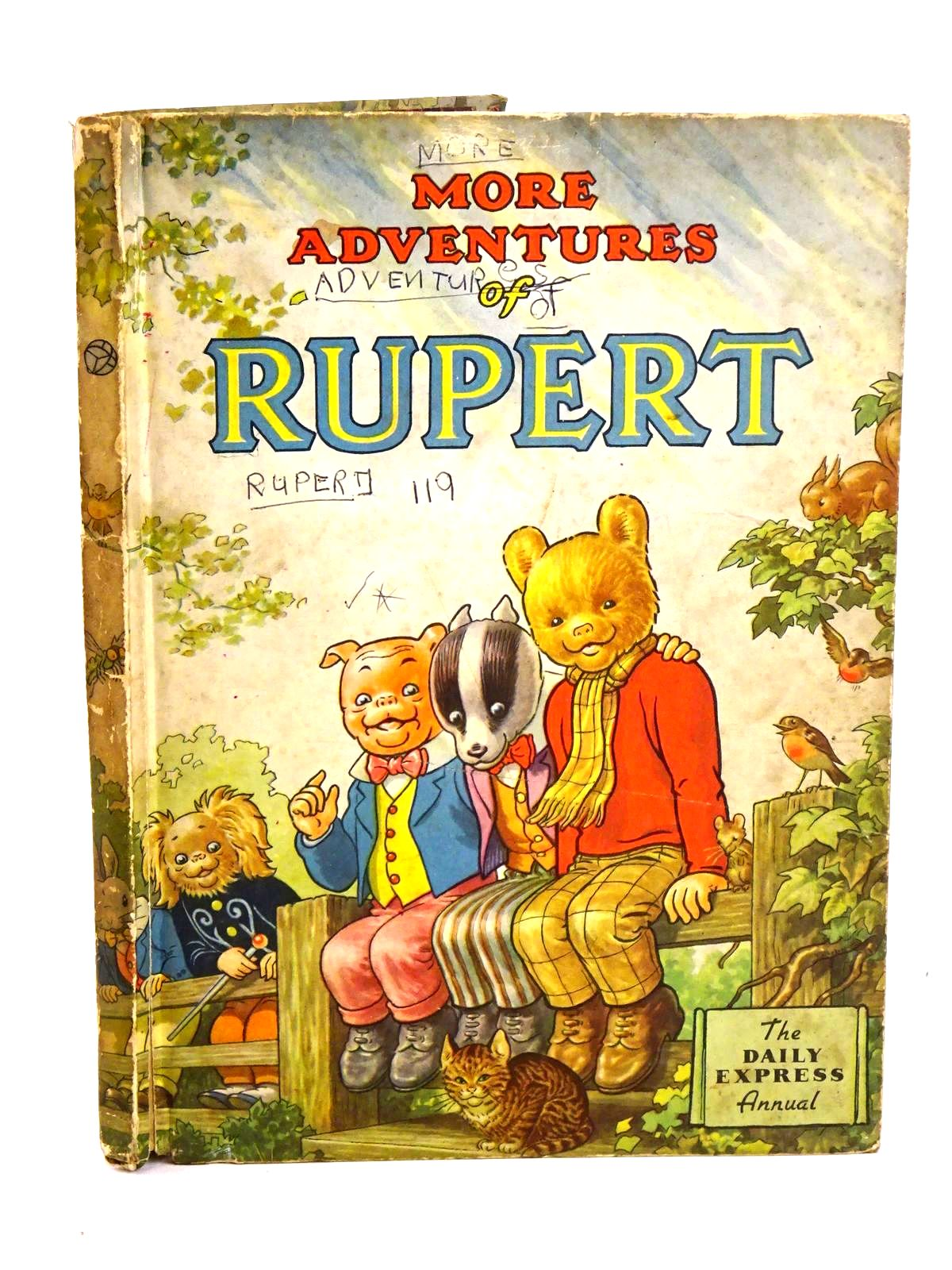 Photo of RUPERT ANNUAL 1953 - MORE ADVENTURES OF RUPERT- Stock Number: 1318461