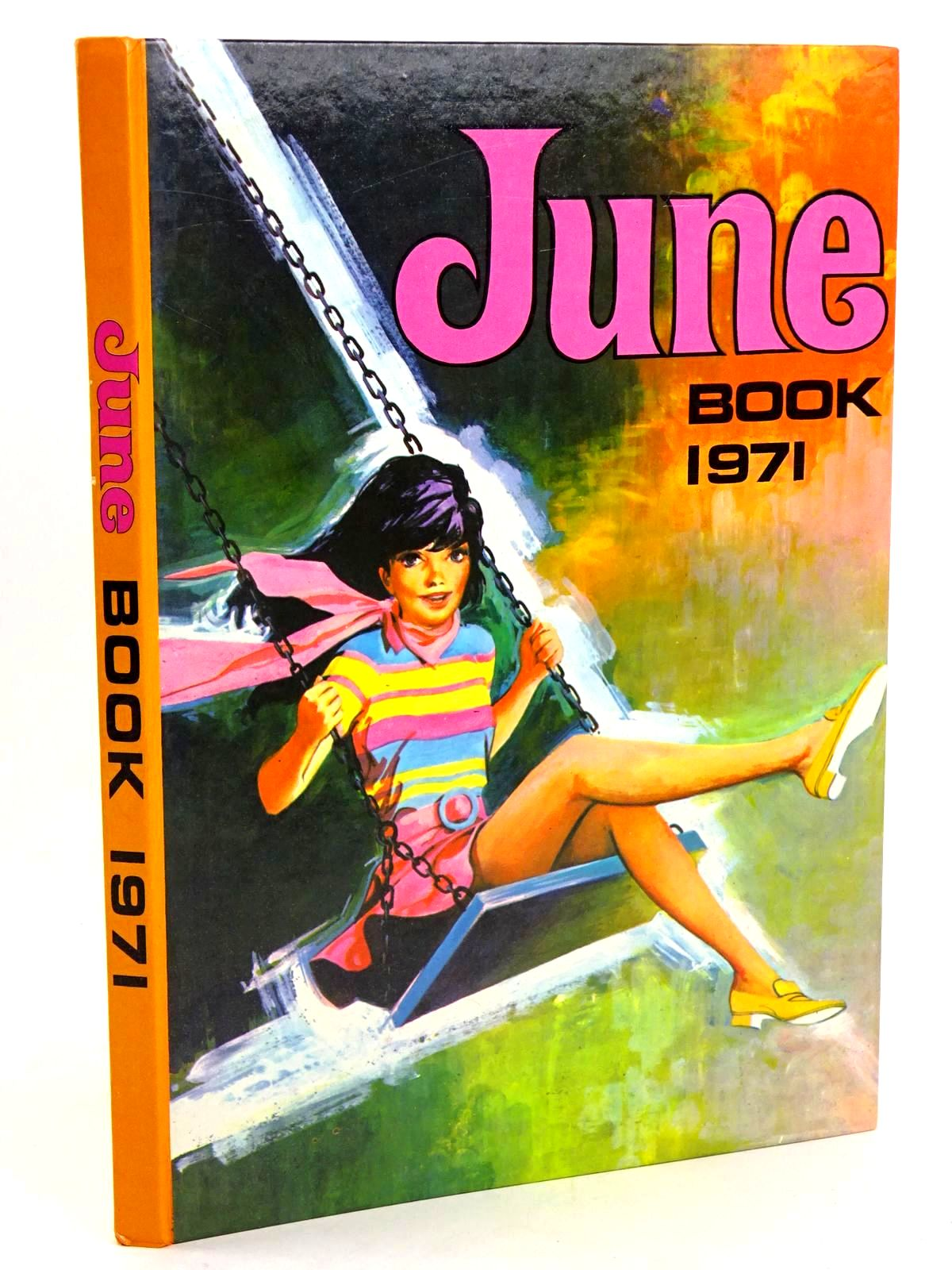 Photo of JUNE BOOK 1971 published by IPC Magazines Ltd. (STOCK CODE: 1318467)  for sale by Stella & Rose's Books